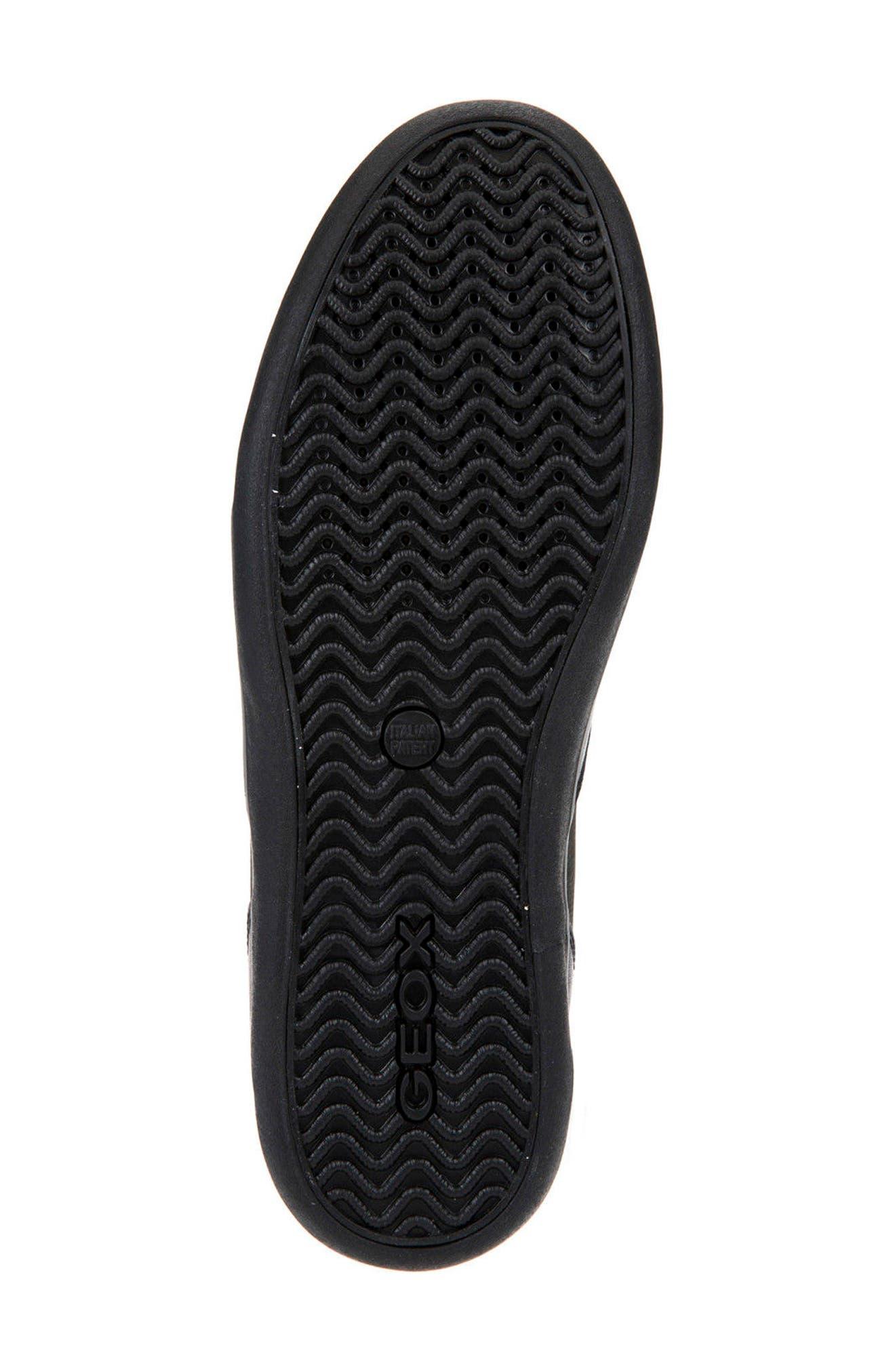 Box 31 High Top Sneaker,                             Alternate thumbnail 6, color,                             Black