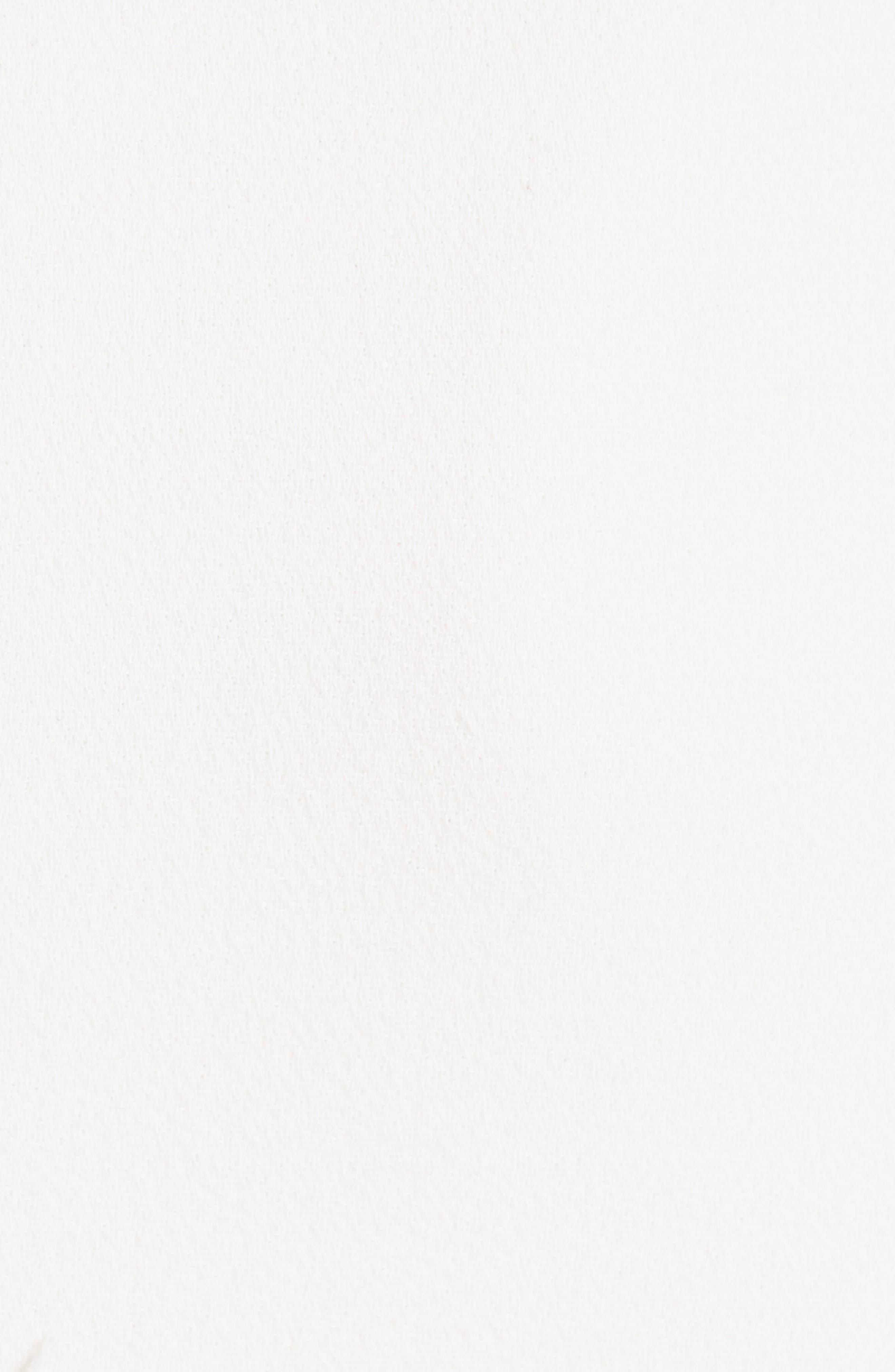 Alternate Image 5  - Michael Kors Leather Trim Stretch Bouclé Crepe Sheath Dress