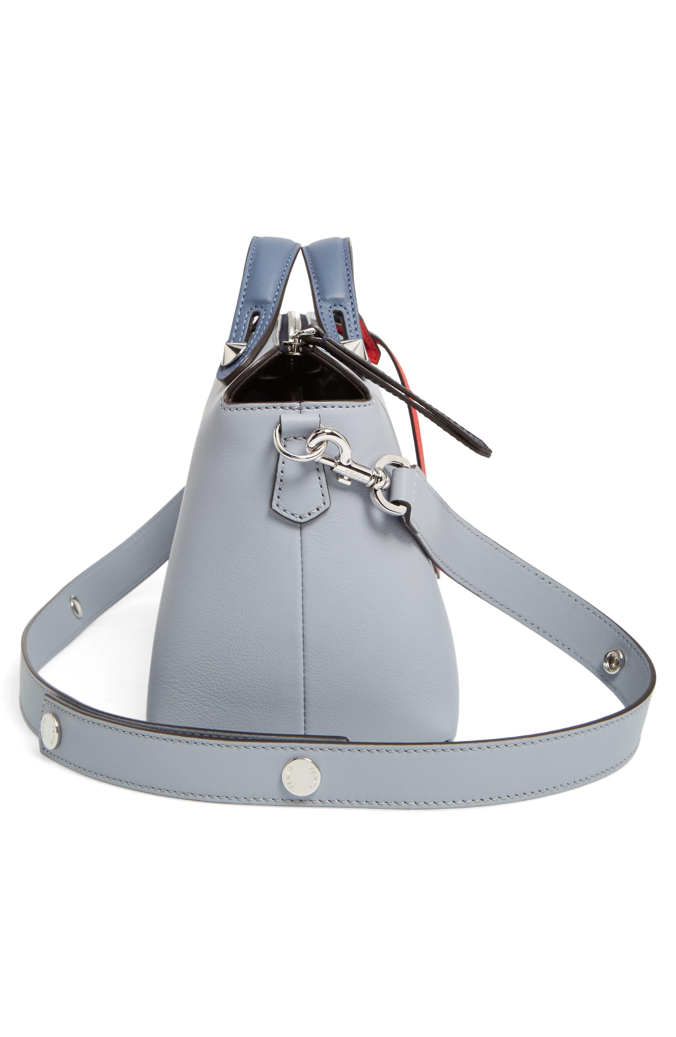 Alternate Image 5  - Fendi 'Medium By the Way' Colorblock Leather Shoulder Bag