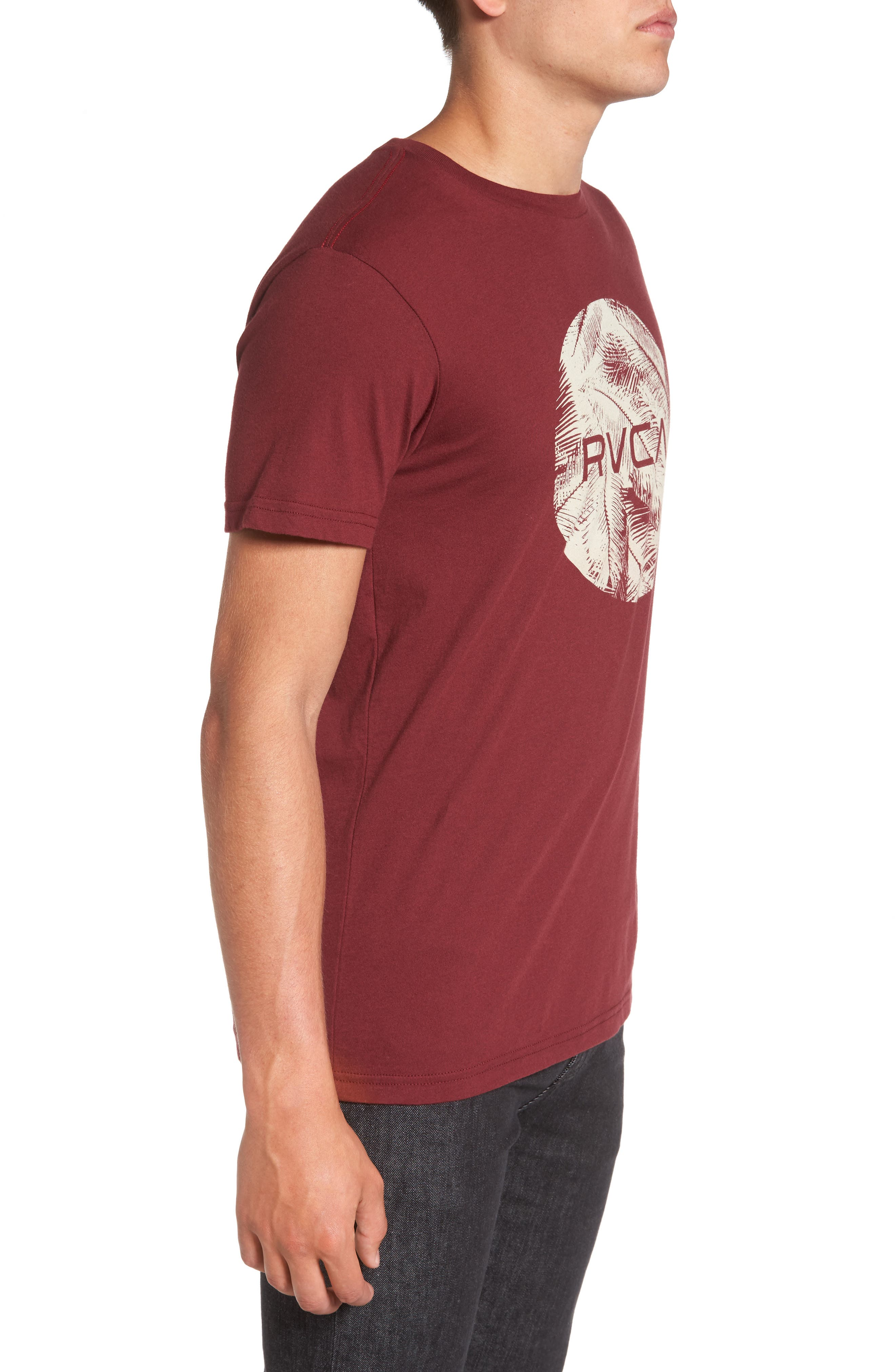 Alternate Image 3  - RVCA Motors Palm Graphic T-Shirt
