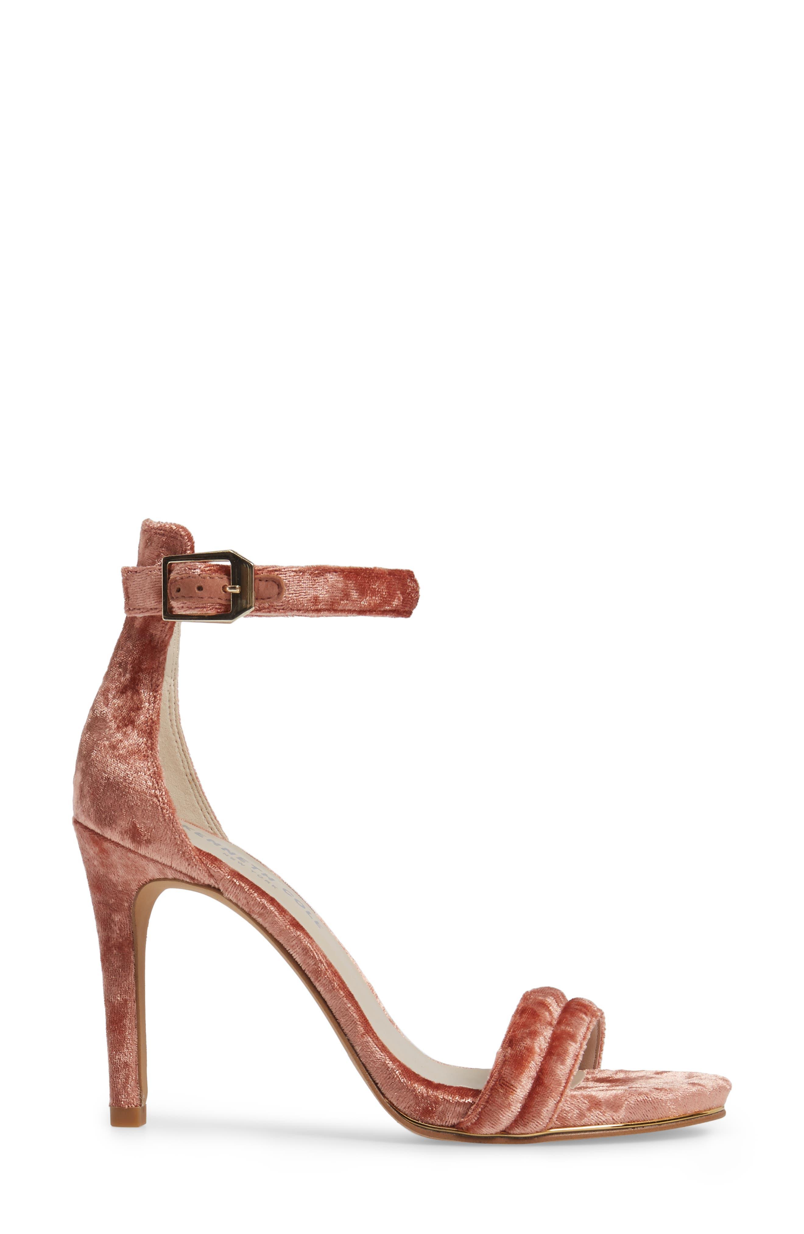 'Brooke' Sandal,                             Alternate thumbnail 3, color,                             Rose Velvet