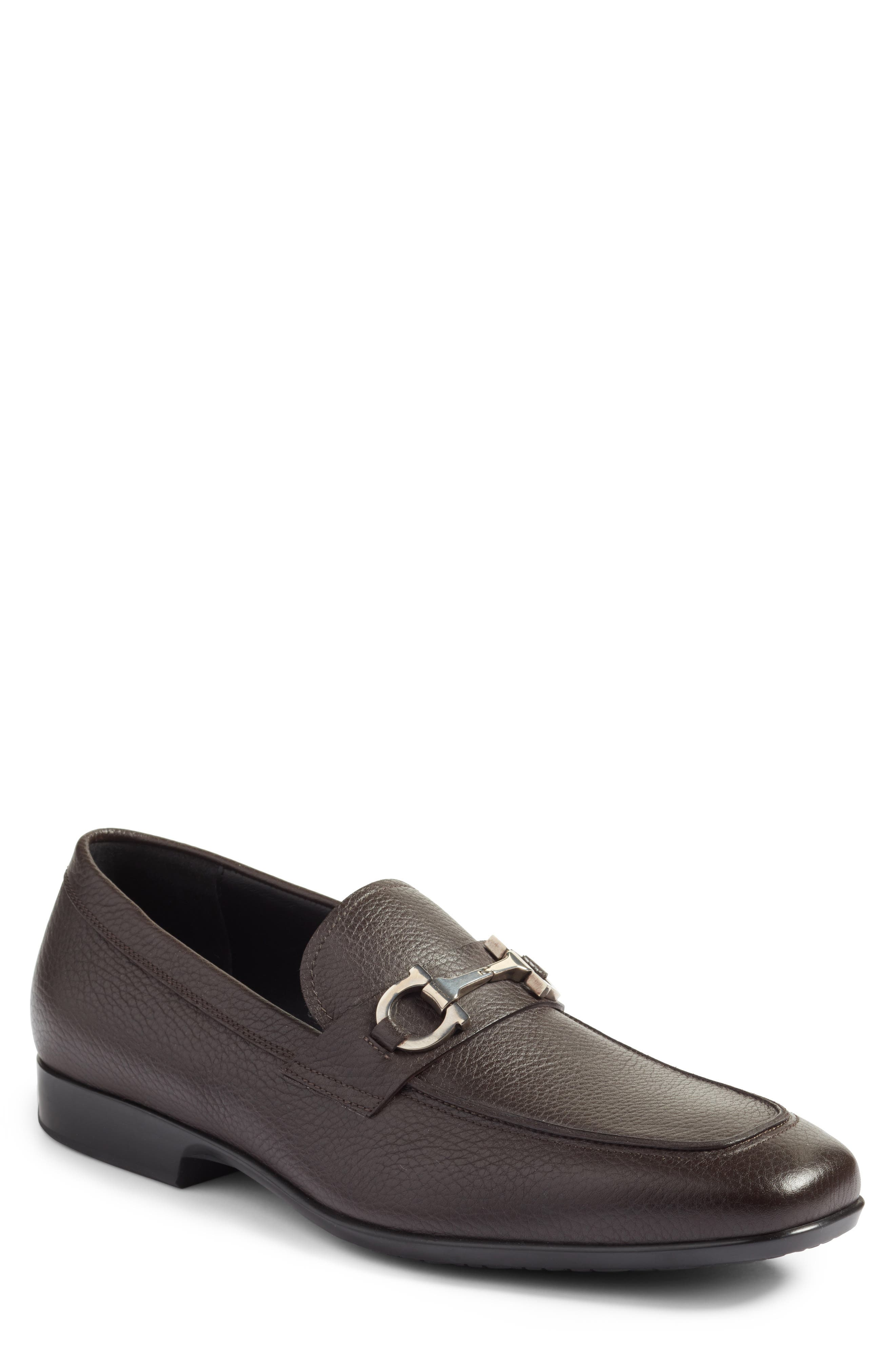 Bit Loafer,                             Main thumbnail 1, color,                             Hickory Leather
