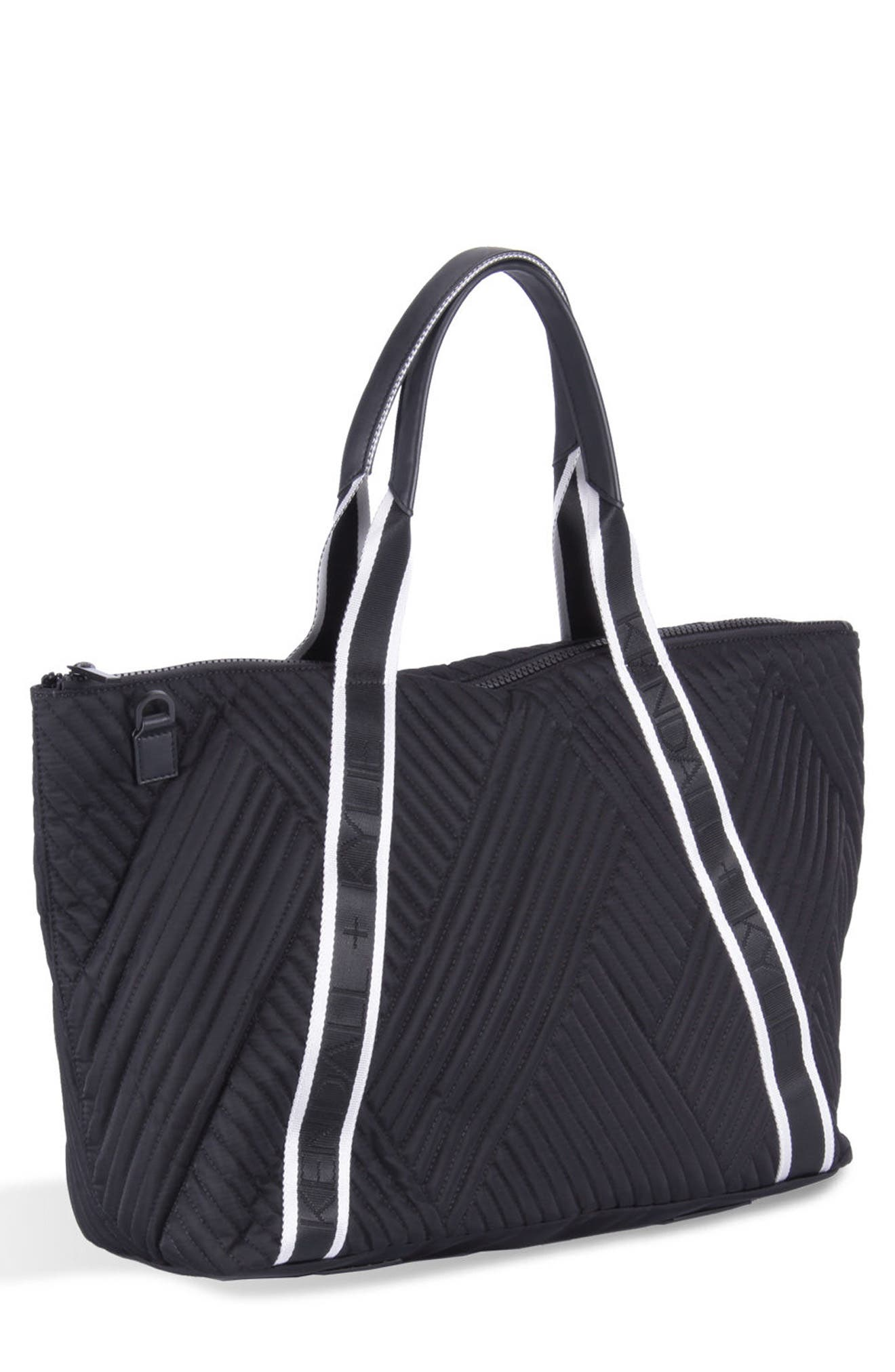 KENDALL + KYLIE Jane Quilted Nylon Tote