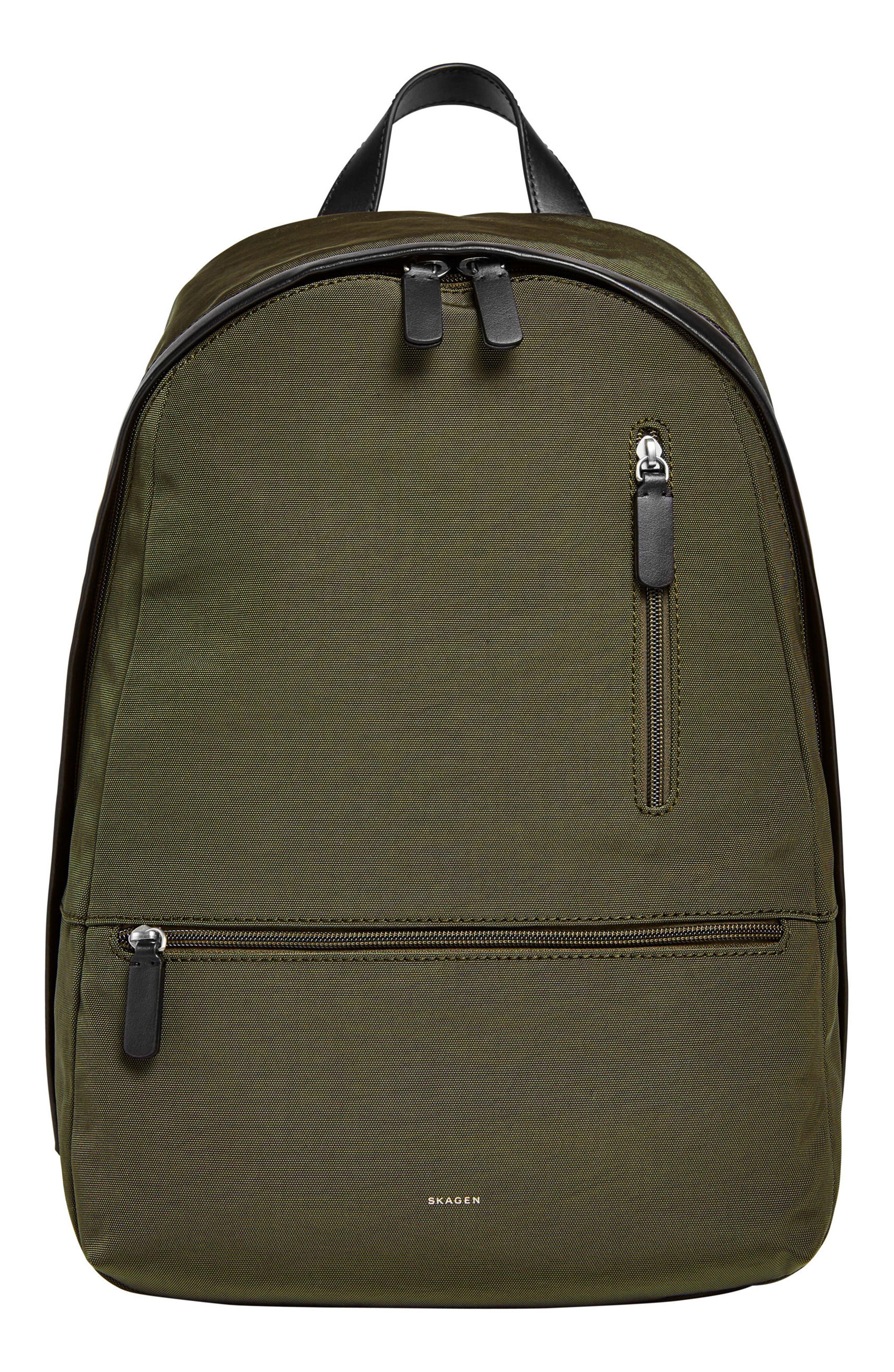 Kroyer Backpack,                             Main thumbnail 1, color,                             Dark Green