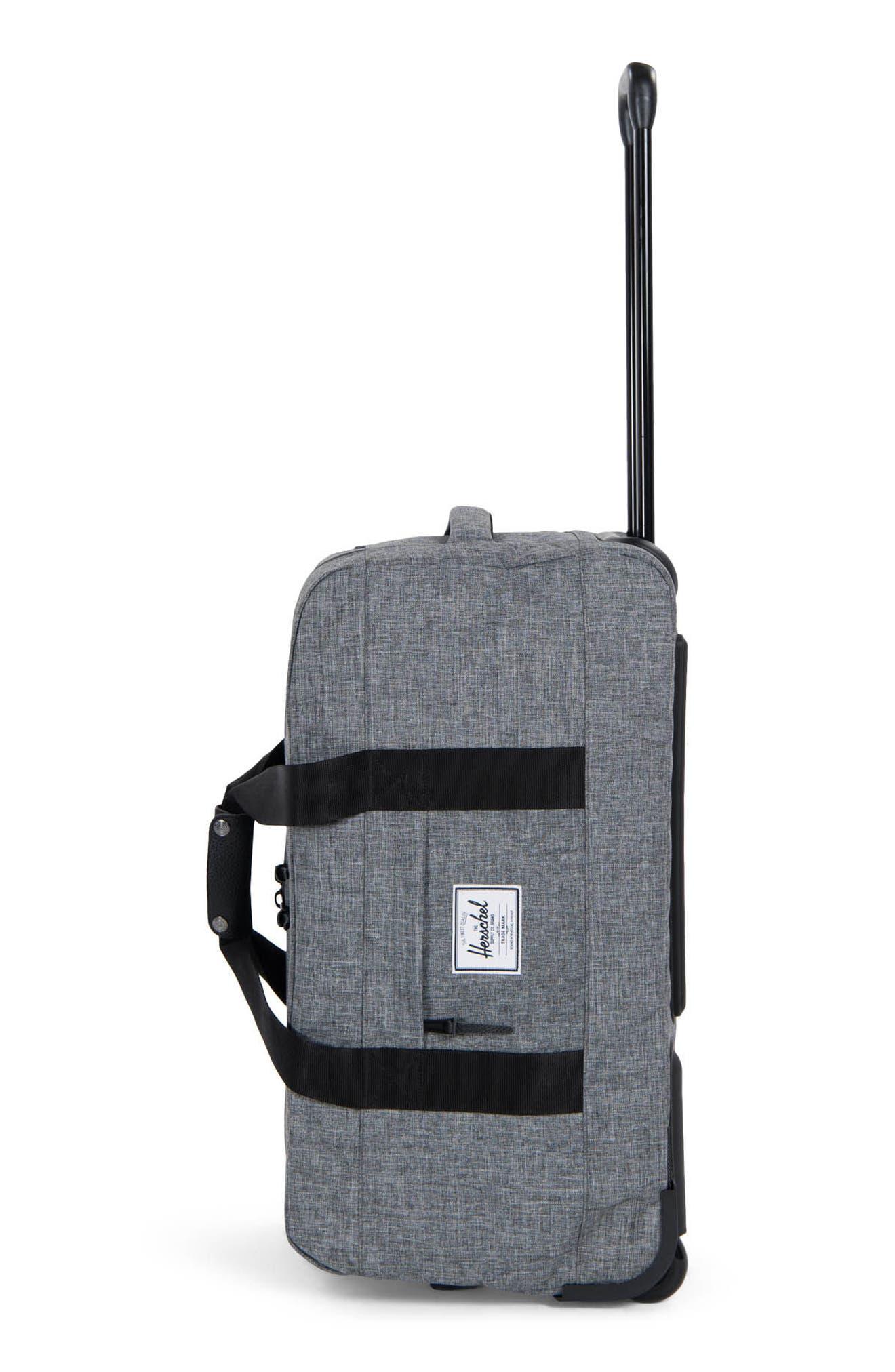 Wheelie Outfitter 24-Inch Duffel Bag,                             Alternate thumbnail 2, color,                             Raven Crosshatch