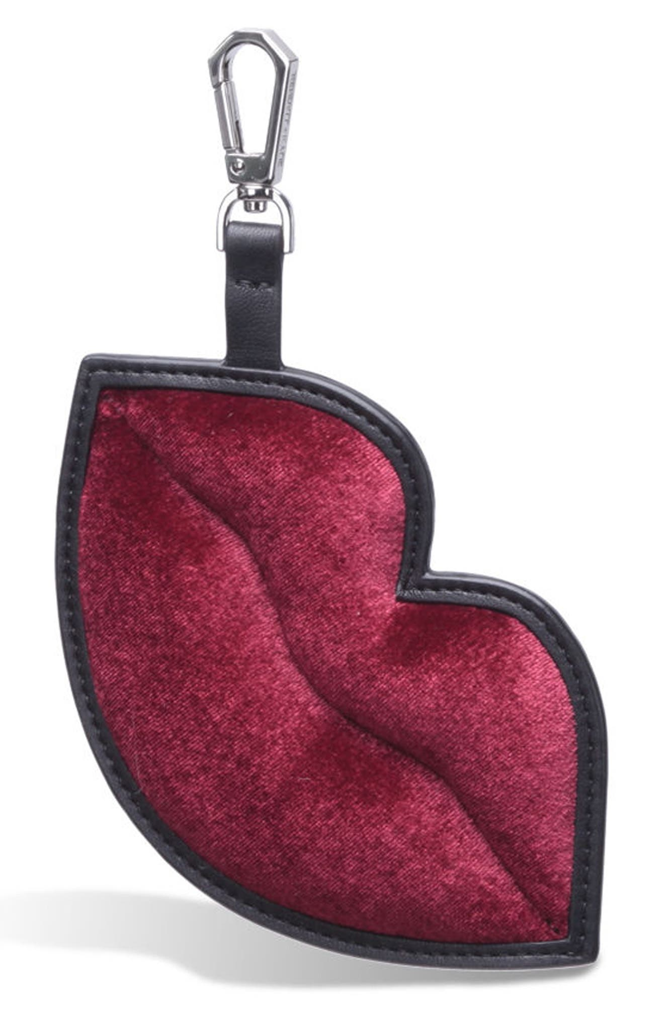 Alternate Image 1 Selected - KENDALL + KYLIE Lush Lips Bag Charm
