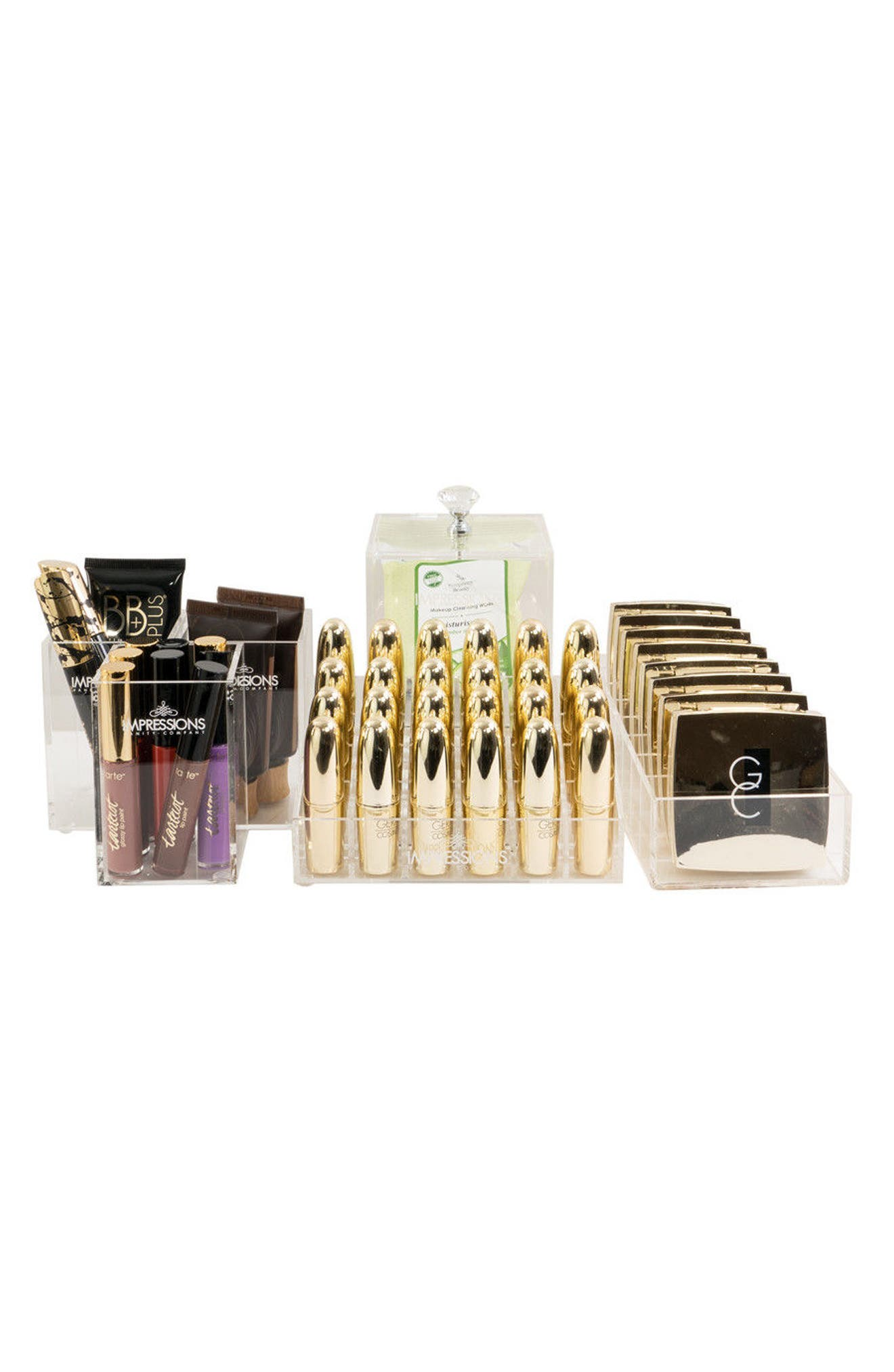 Impressions Vanity Co. Diamond Collection 6-Piece Acrylic Organizer Set