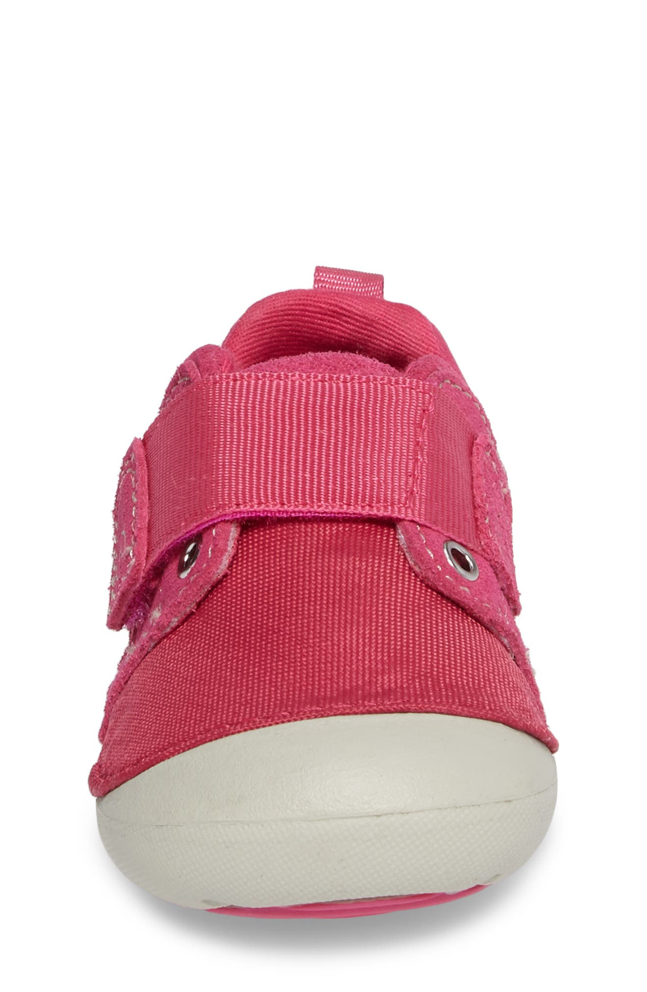 Soft Motion<sup>™</sup> Cameron Sneaker,                             Alternate thumbnail 4, color,                             Pink