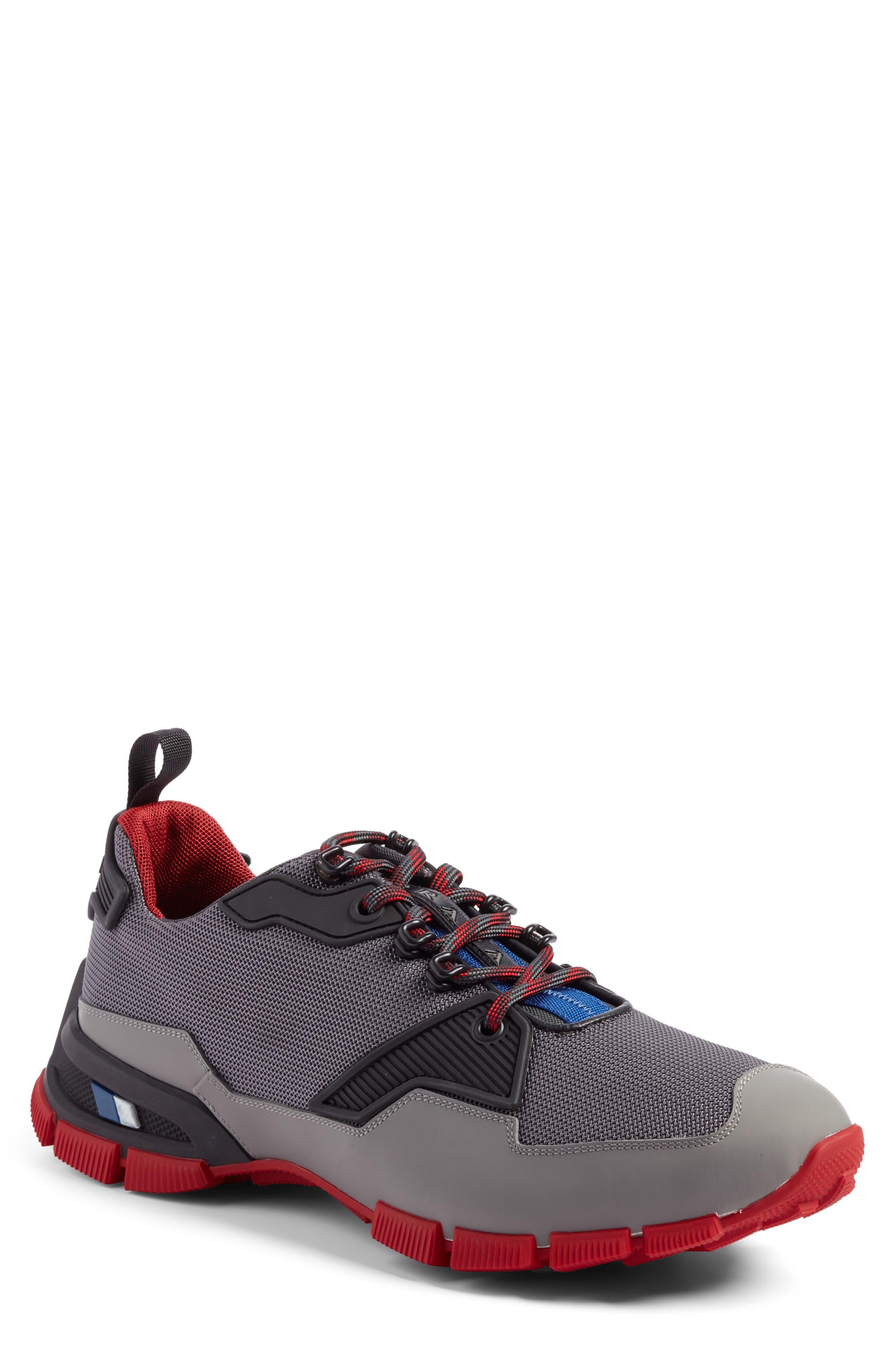 PRADA LINEA ROSSA Tech Lug Sneaker