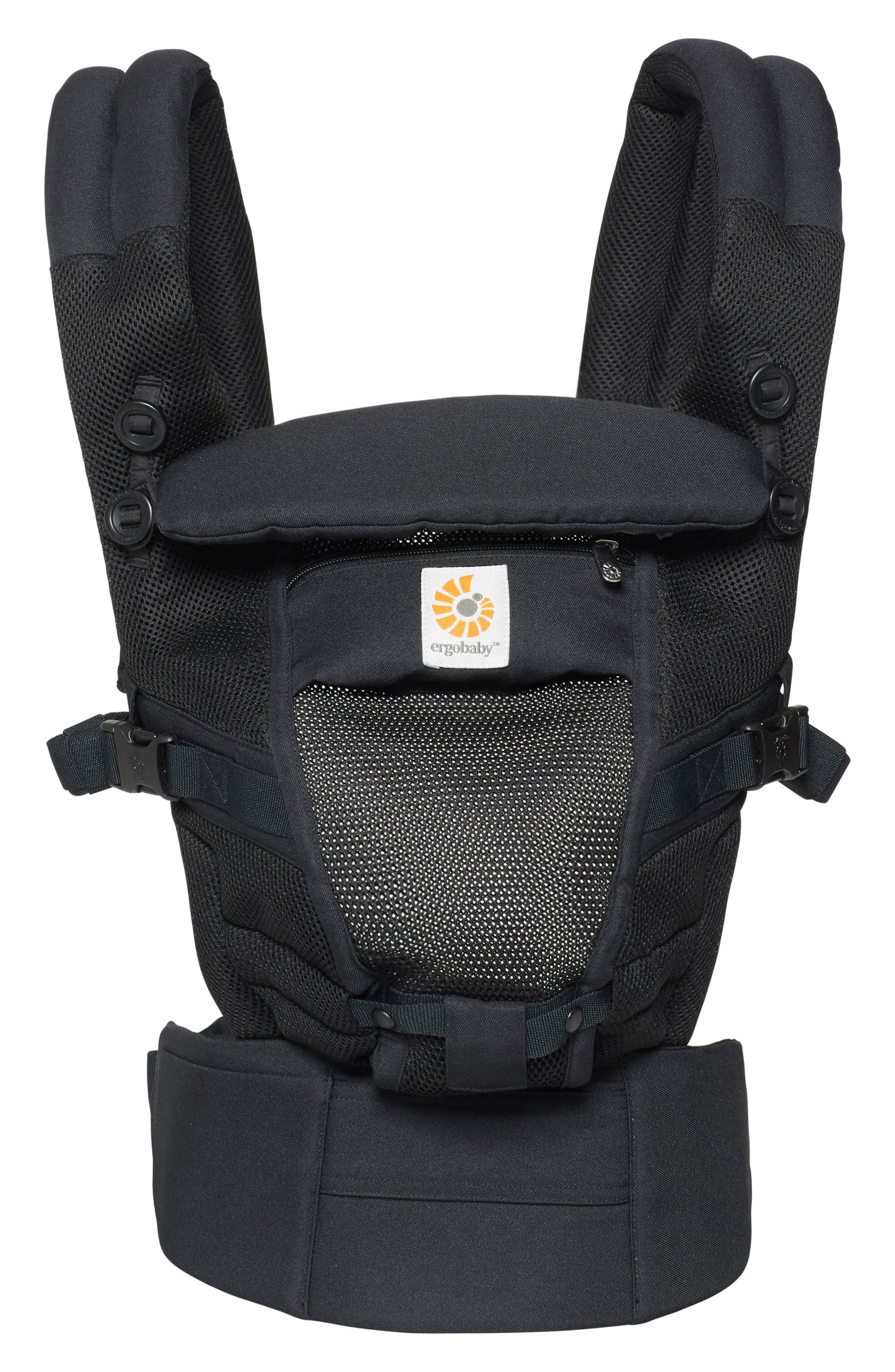 Three Position ADAPT Baby Carrier,                         Main,                         color, Onyx Black