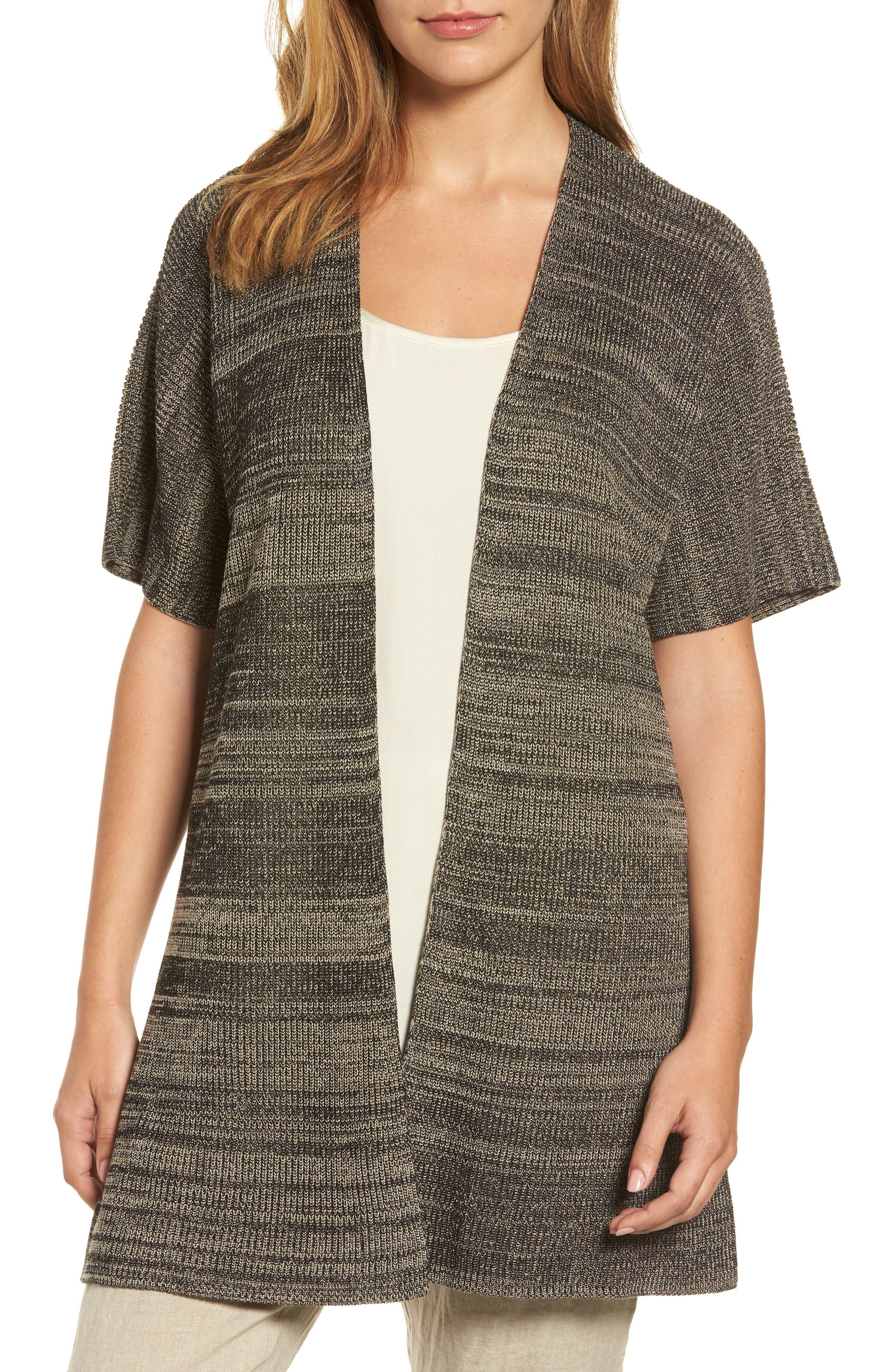 Eileen Fisher Marled Tencel® Kimono Cardigan