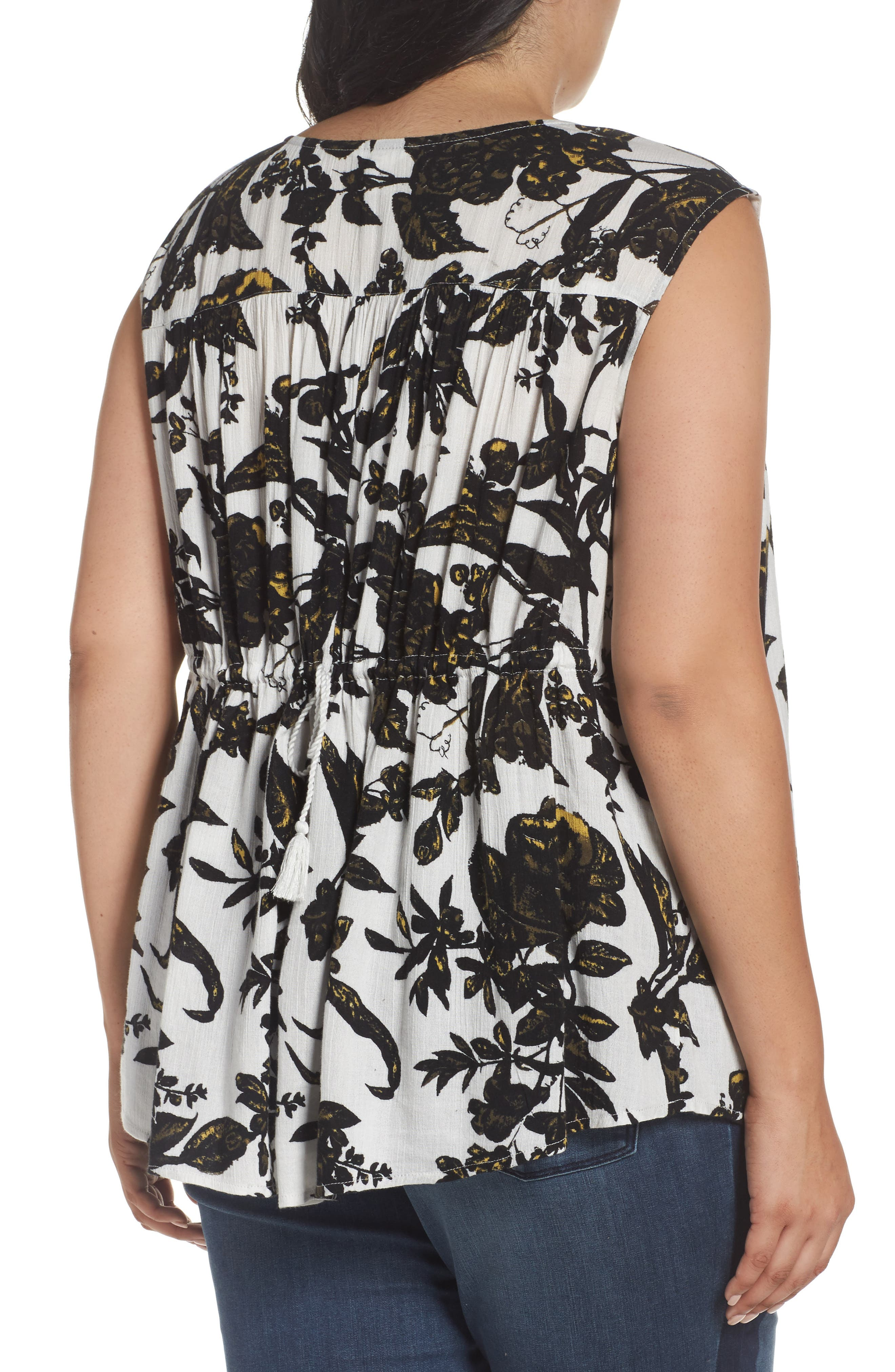 Alternate Image 2  - Caslon® Print Sleeveless Top