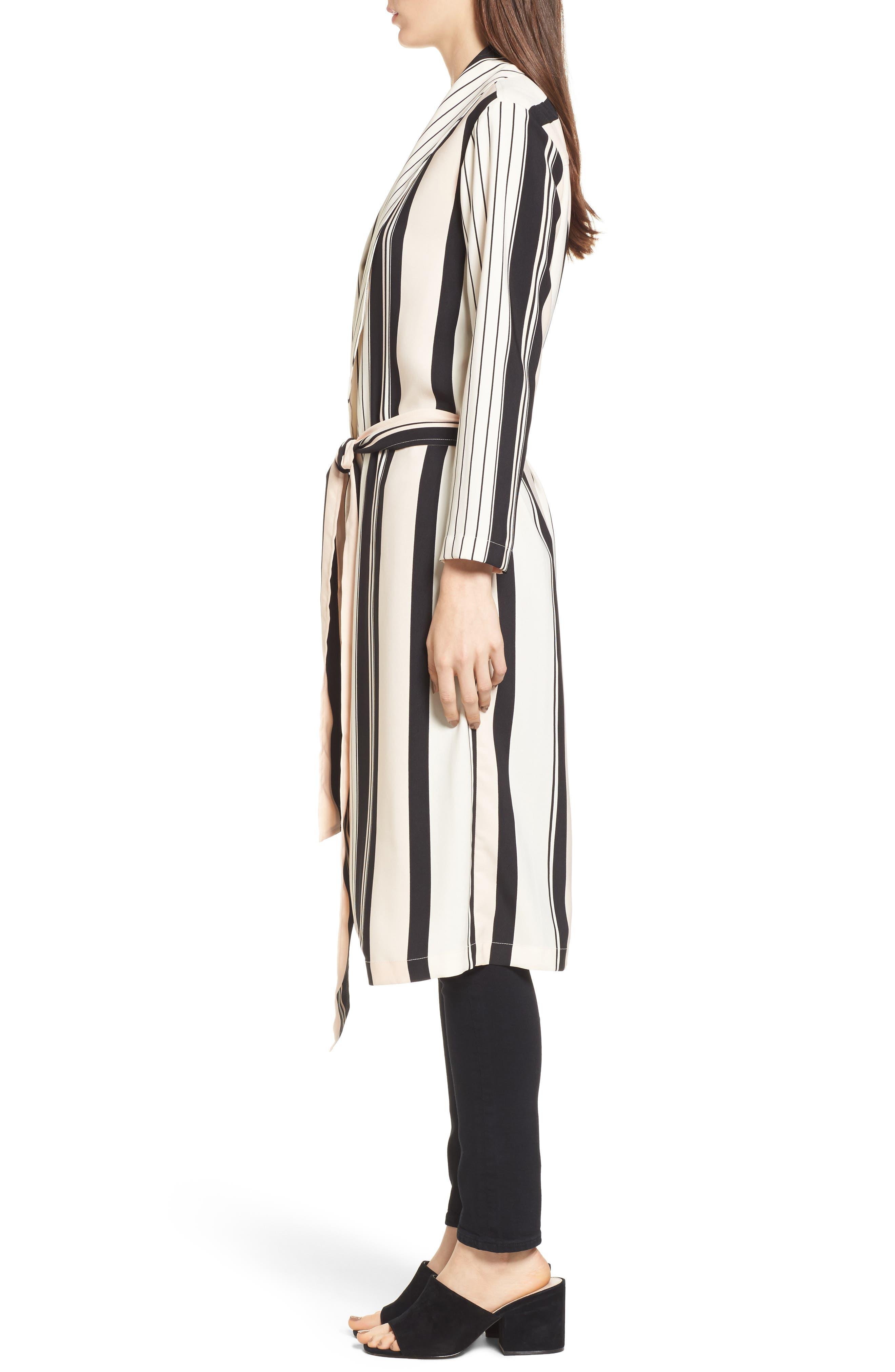 Alternate Image 3  - Trouvé Stripe Longline Jacket