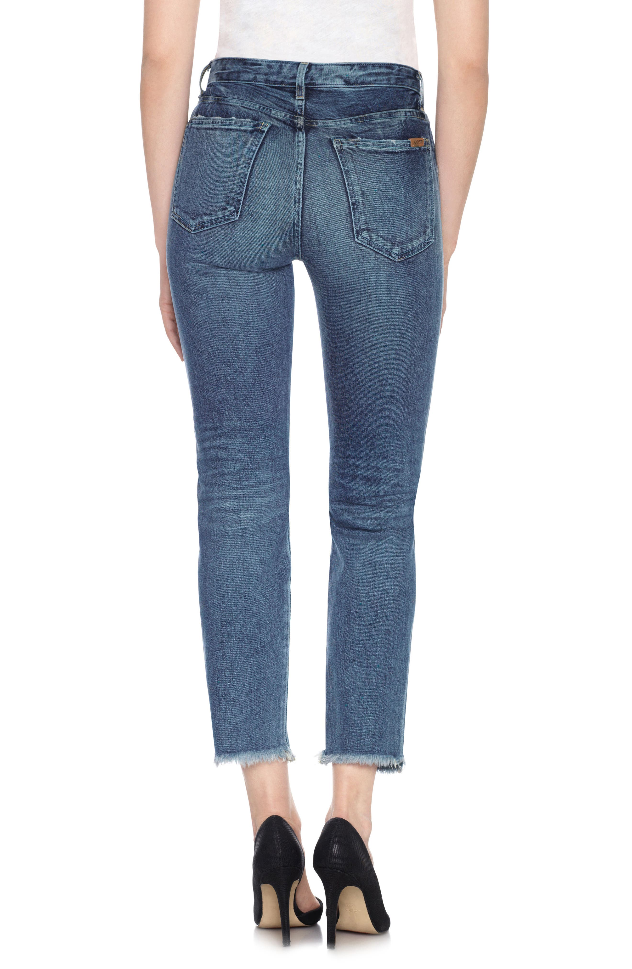 Taylor Hill x Joe's Debbie High Rise Ankle Jeans,                             Alternate thumbnail 2, color,                             Julee
