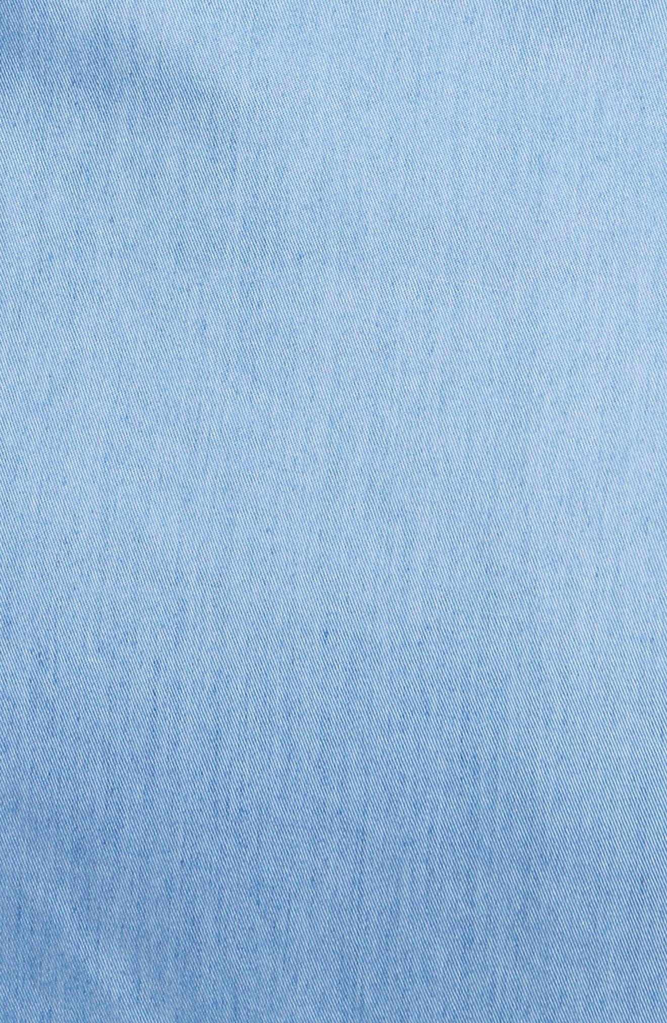 Alternate Image 5  - Veronica Beard Sierra Ruched Shirtdress