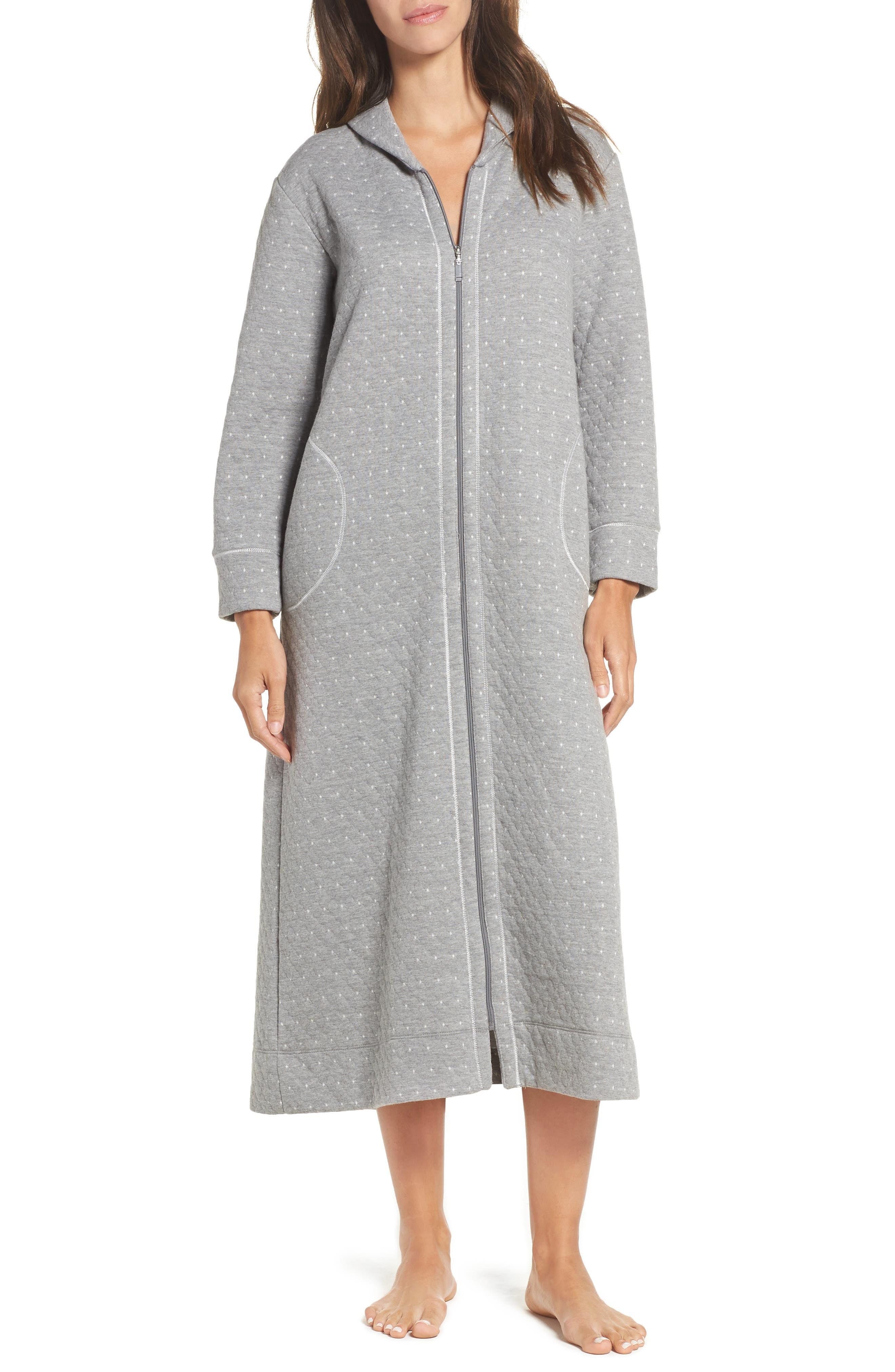 Alternate Image 1 Selected - Carole Hochman Long Zip Robe