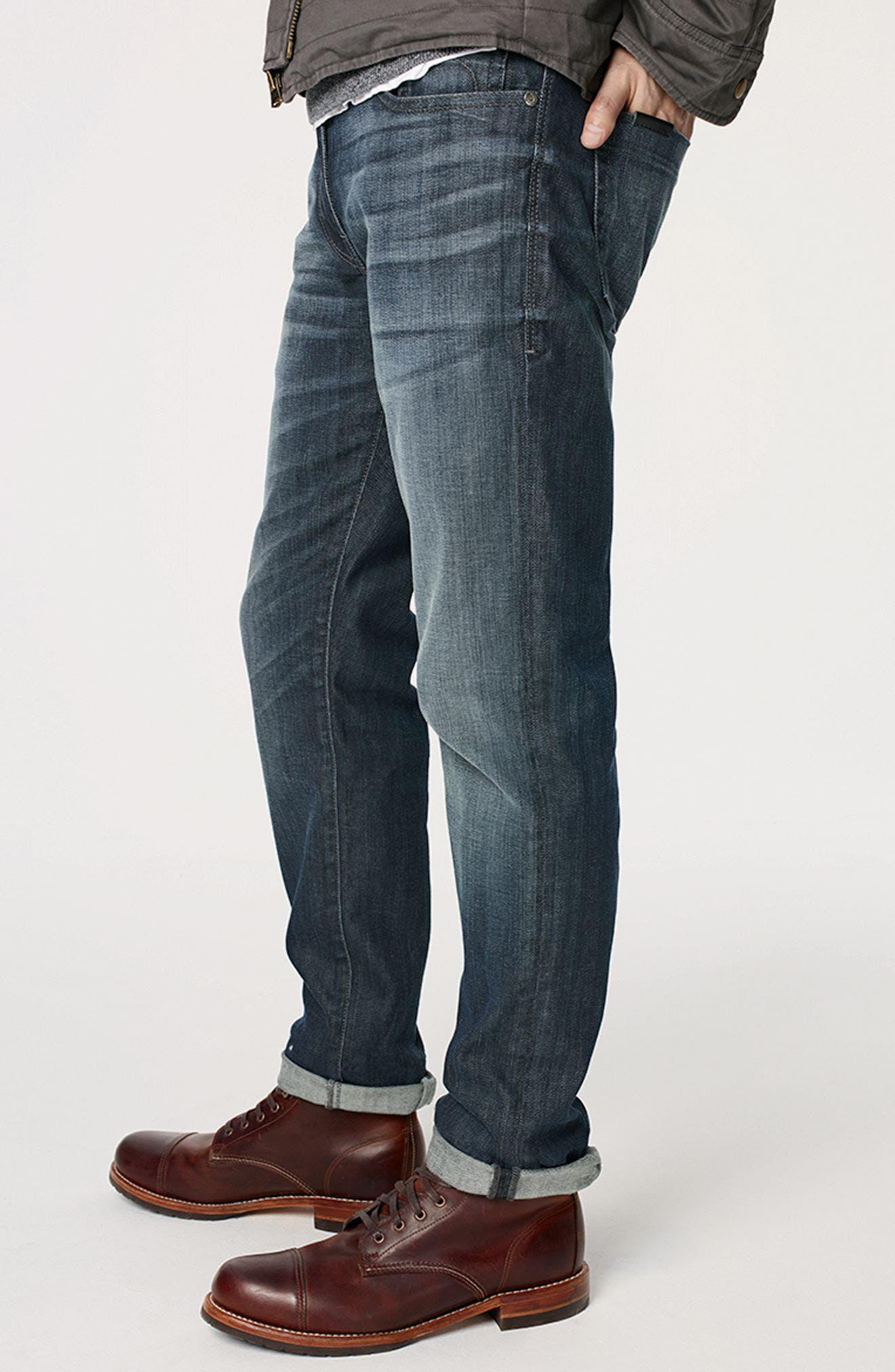 Jimmy Slim Straight Leg Jeans,                             Alternate thumbnail 8, color,