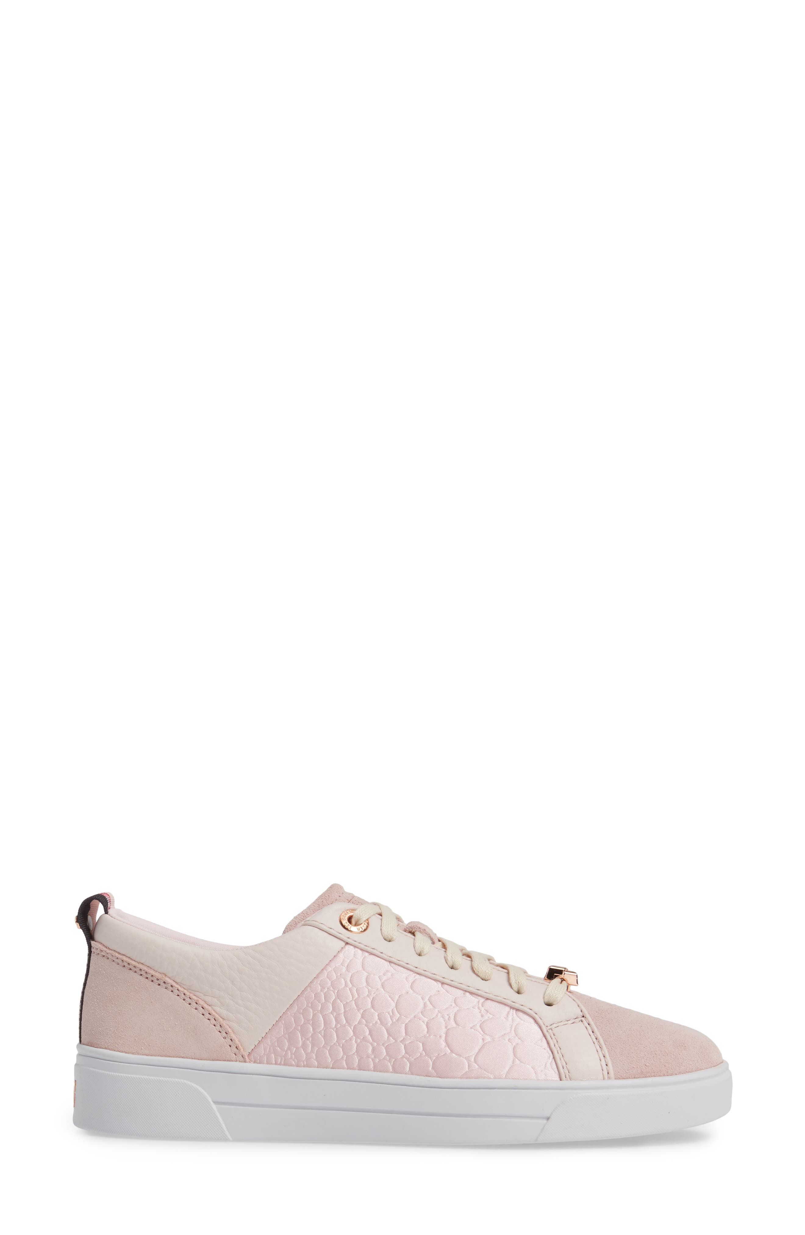 Kulei Sneaker,                             Alternate thumbnail 3, color,                             Light Pink Leather