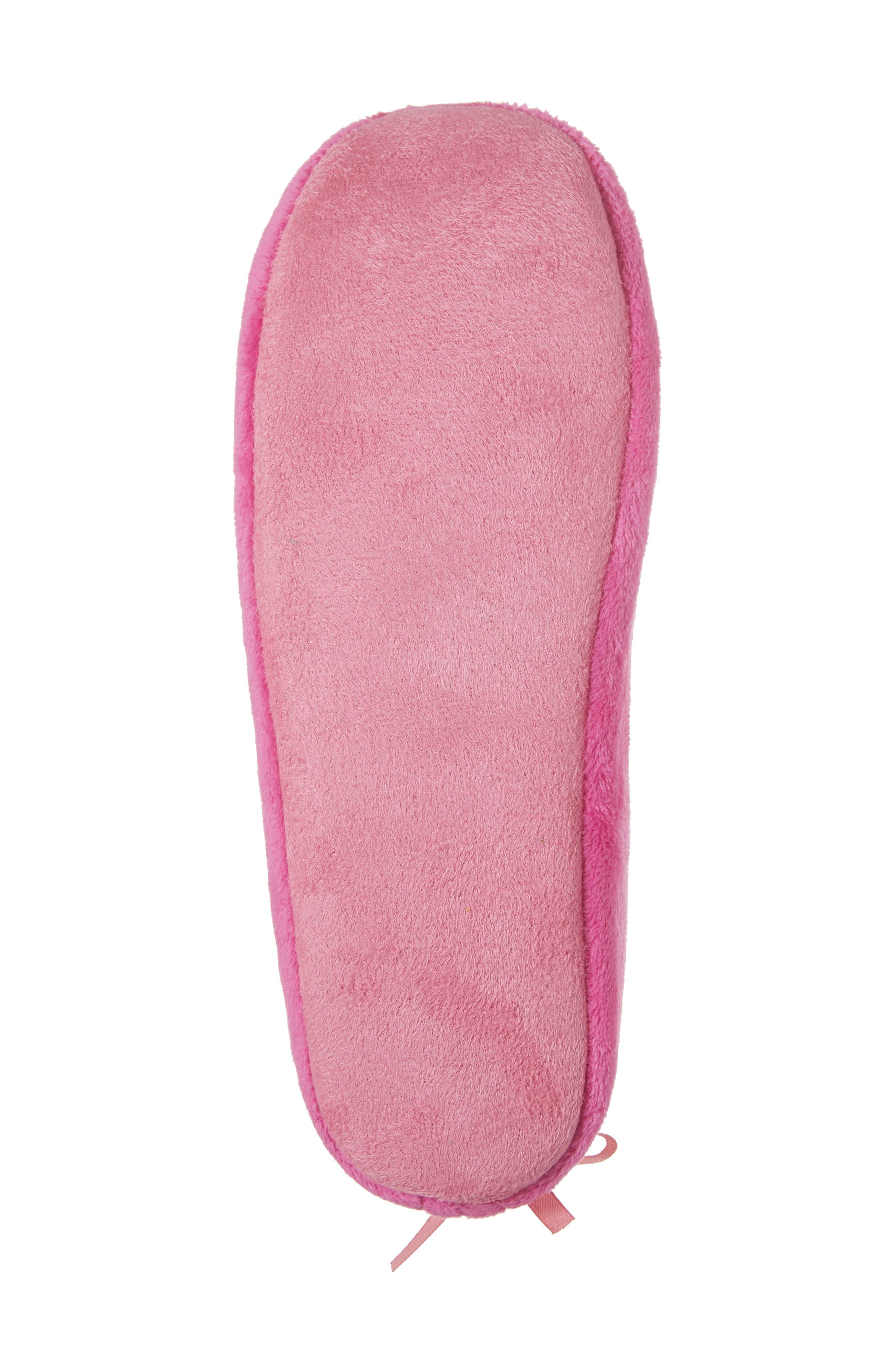 Alternate Image 6  - patricia green Plush Pompom Slipper (Women)