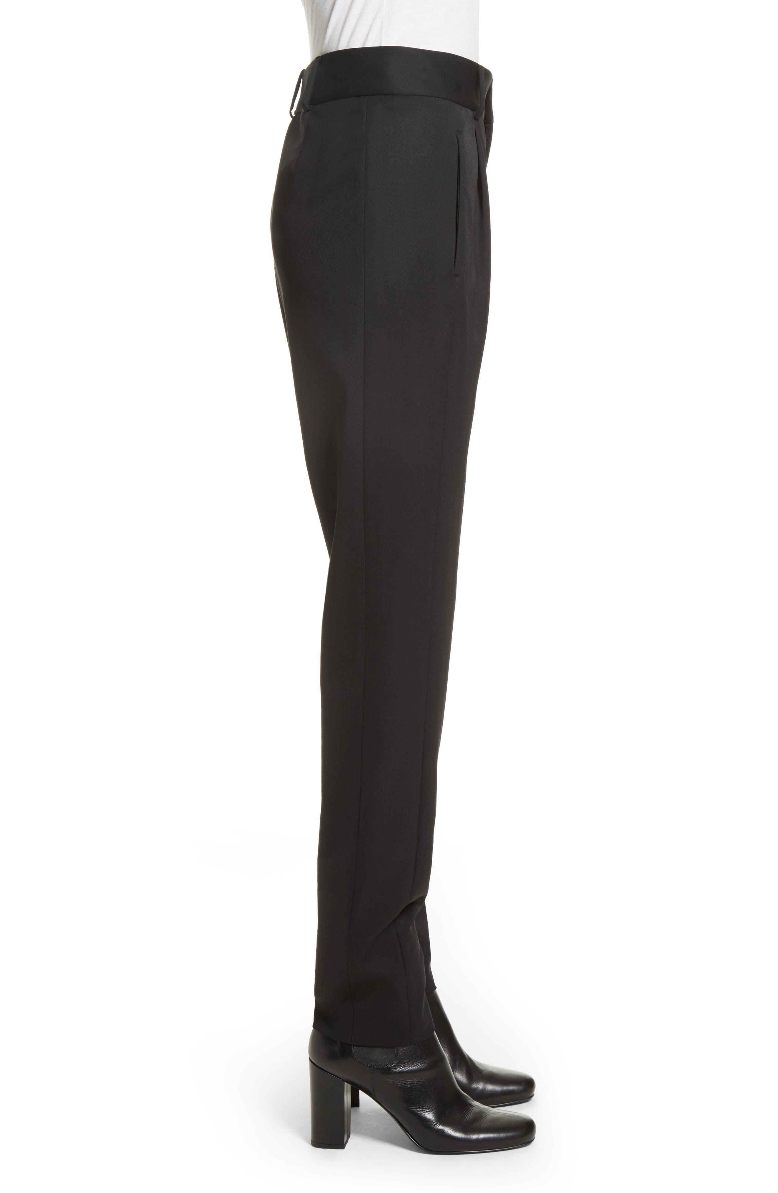 Alternate Image 5  - Saint Laurent Wool Pleated Pants
