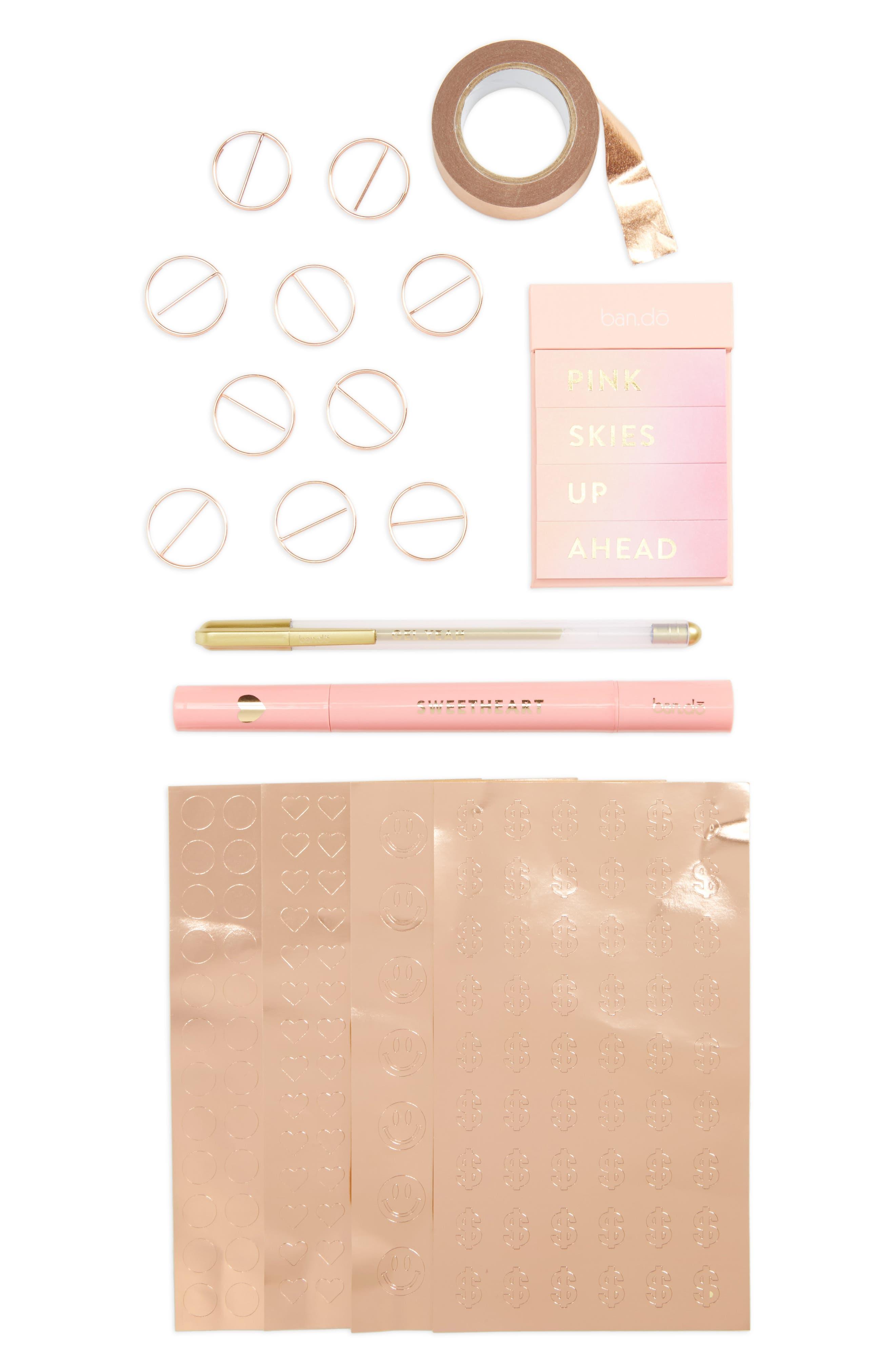 Agenda Starter Pack,                         Main,                         color, Pink