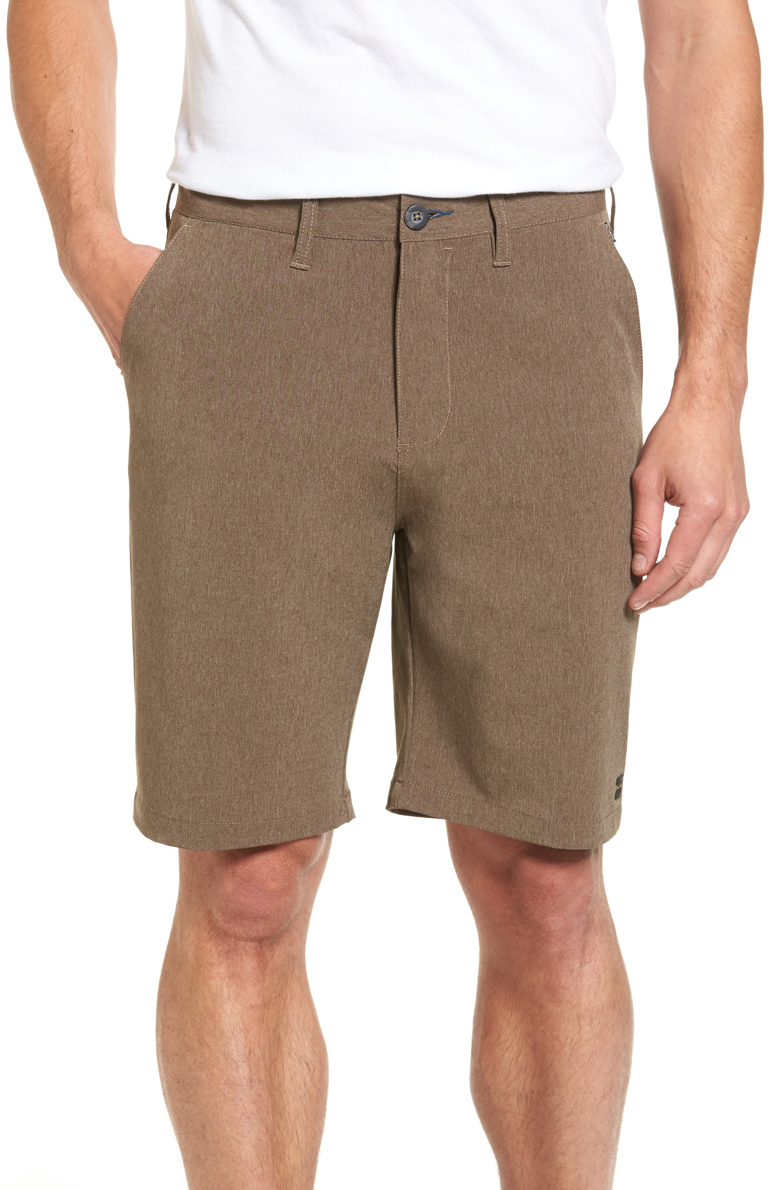 'Crossfire x Submersible' Walking Shorts,                         Main,                         color, Cocoa