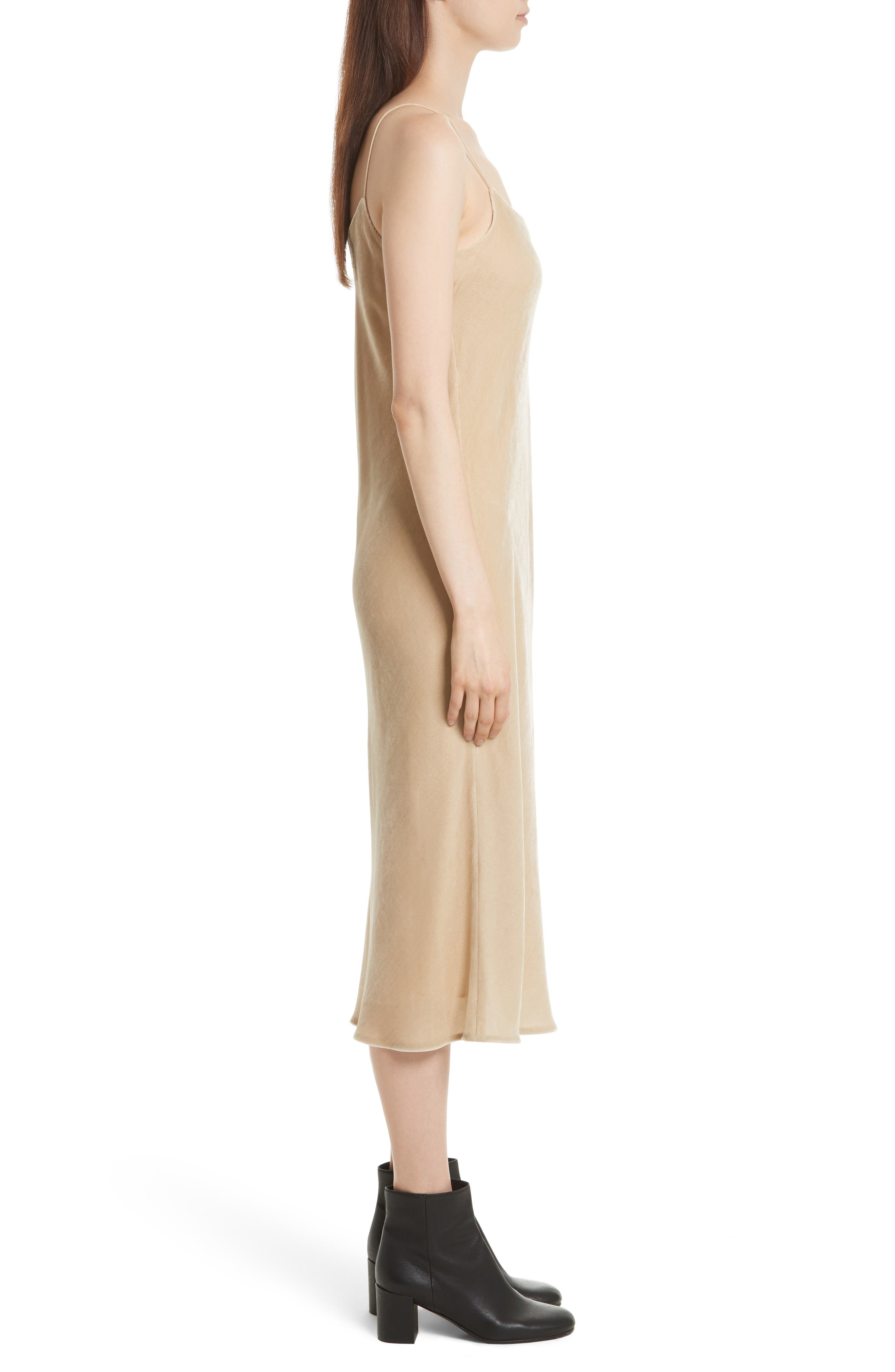 Alternate Image 3  - Vince Velvet Midi Slipdress