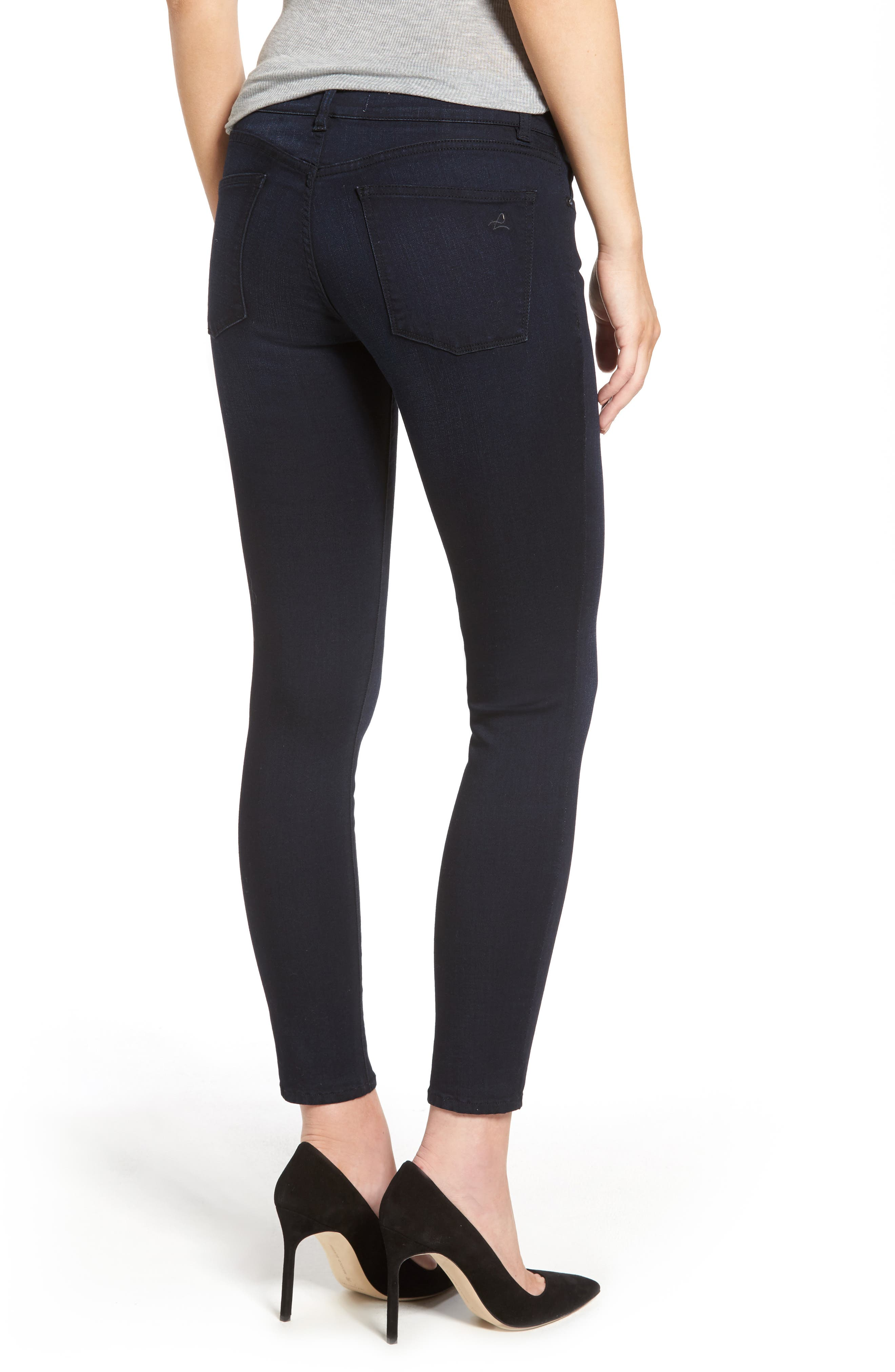 Margaux Ankle Skinny Jeans,                             Alternate thumbnail 2, color,                             Bentley