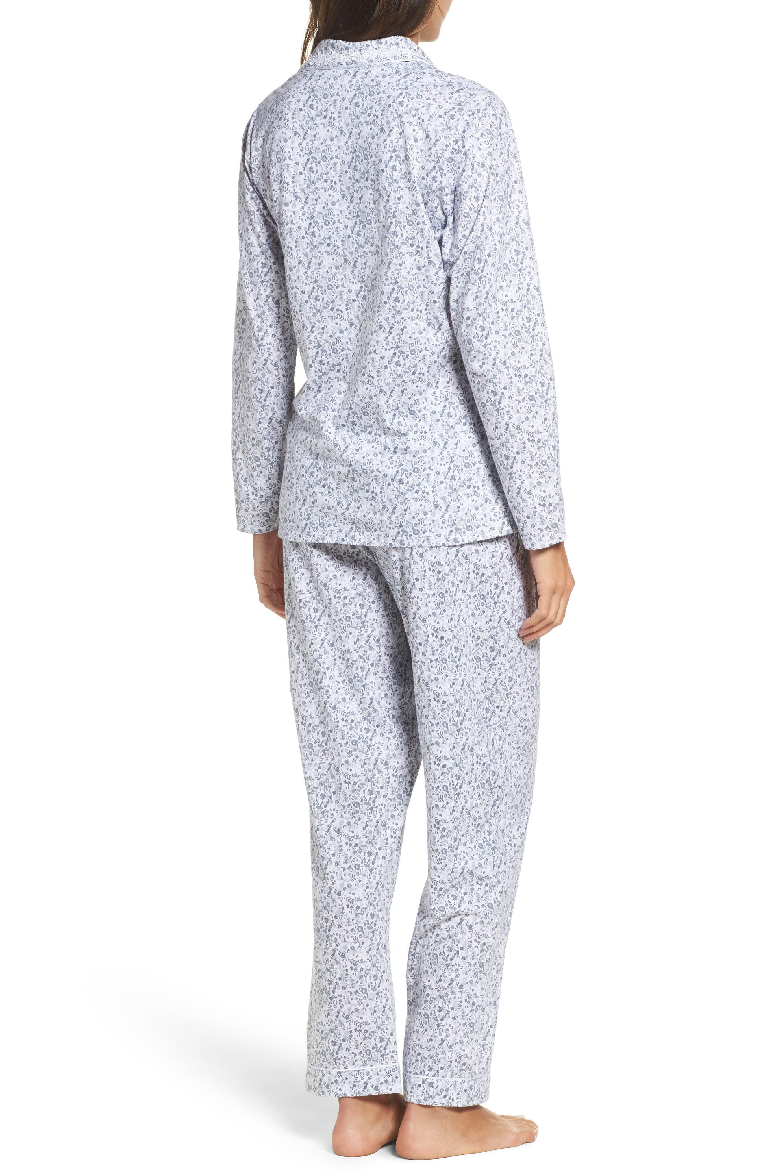 Alternate Image 2  - Eileen West Ditsy Print Pajamas