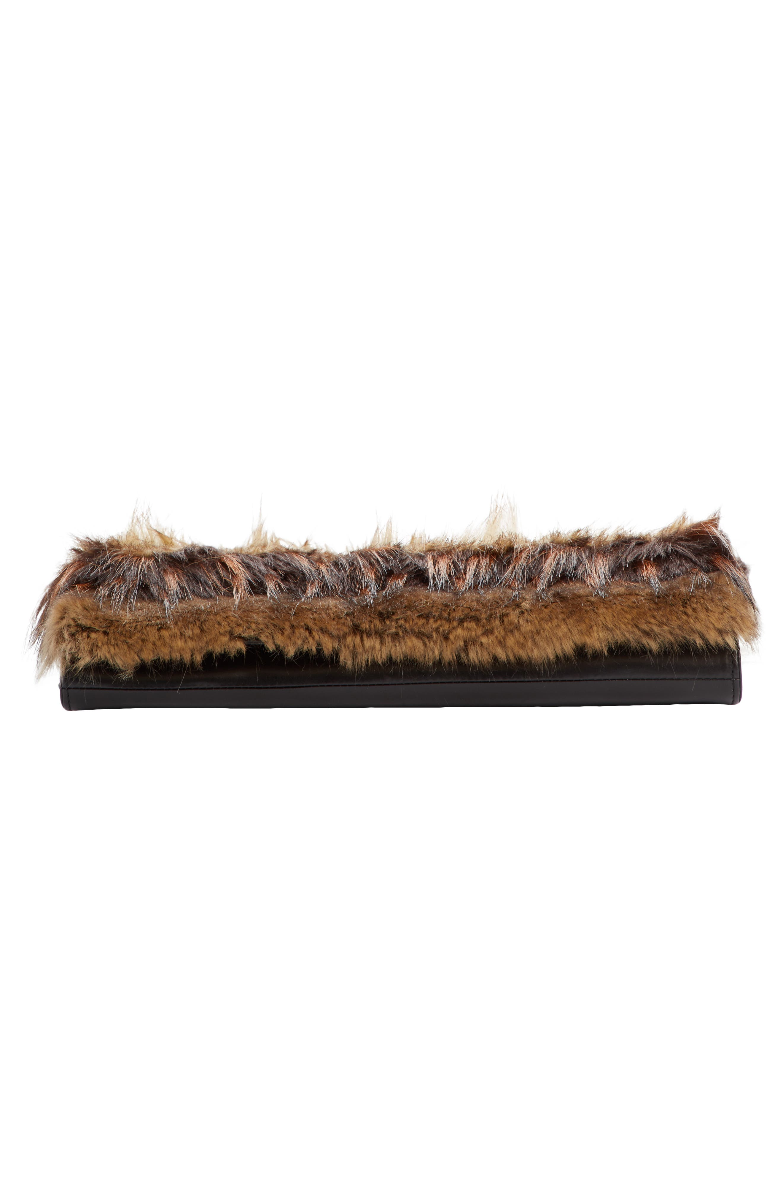 Alternate Image 4  - Dries Van Noten Faux Fur Clutch