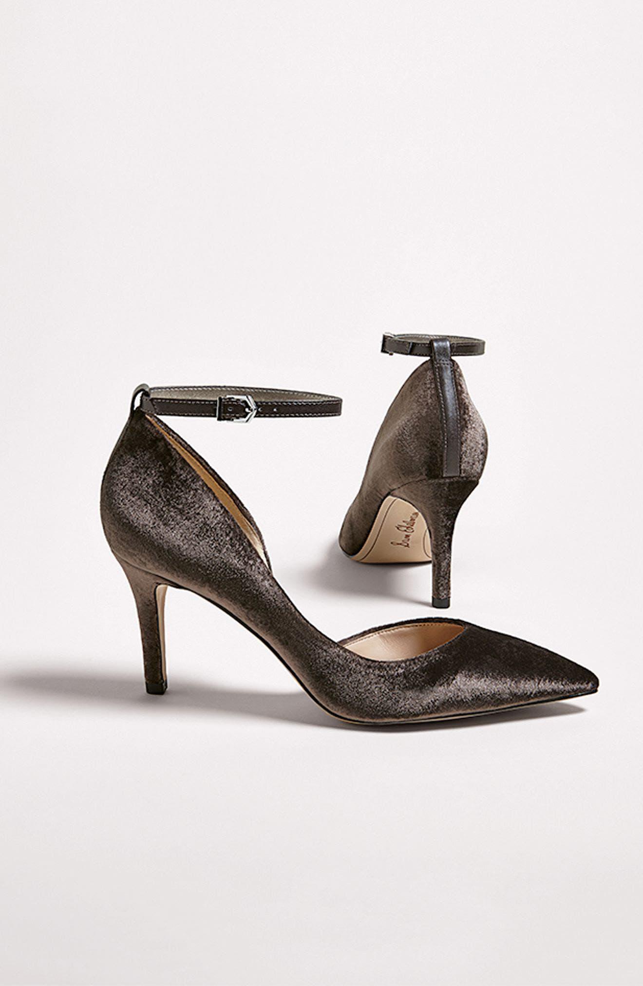 Alternate Image 8  - Sam Edelman Tia Ankle Strap Pump (Women)