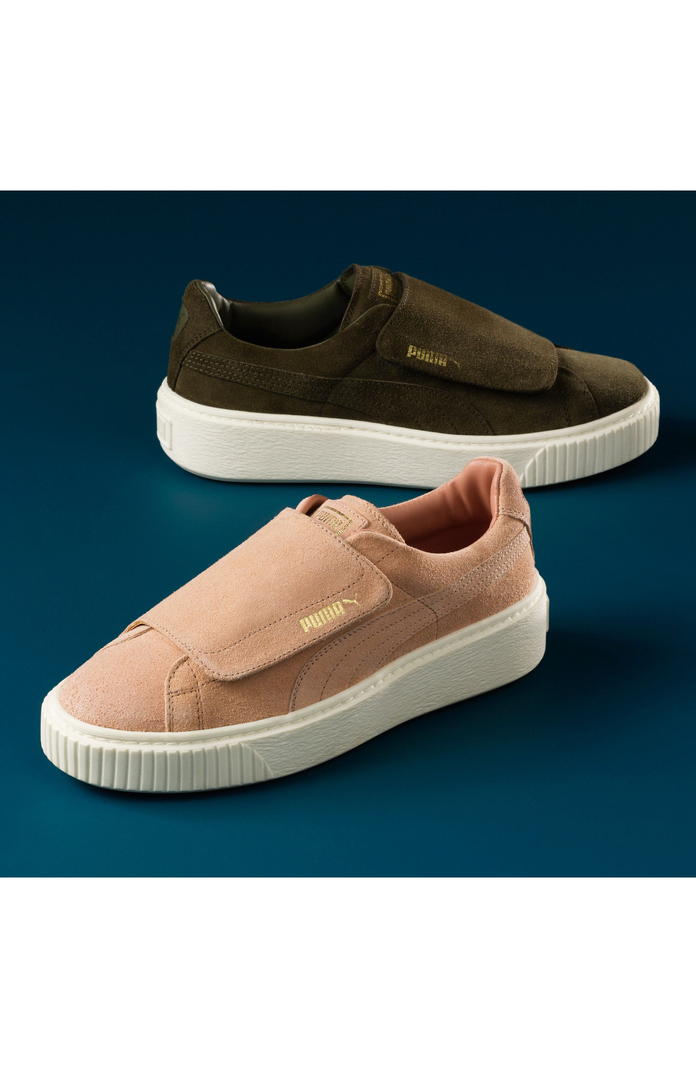 Alternate Image 6  - PUMA Basket Platform Sneaker (Women)
