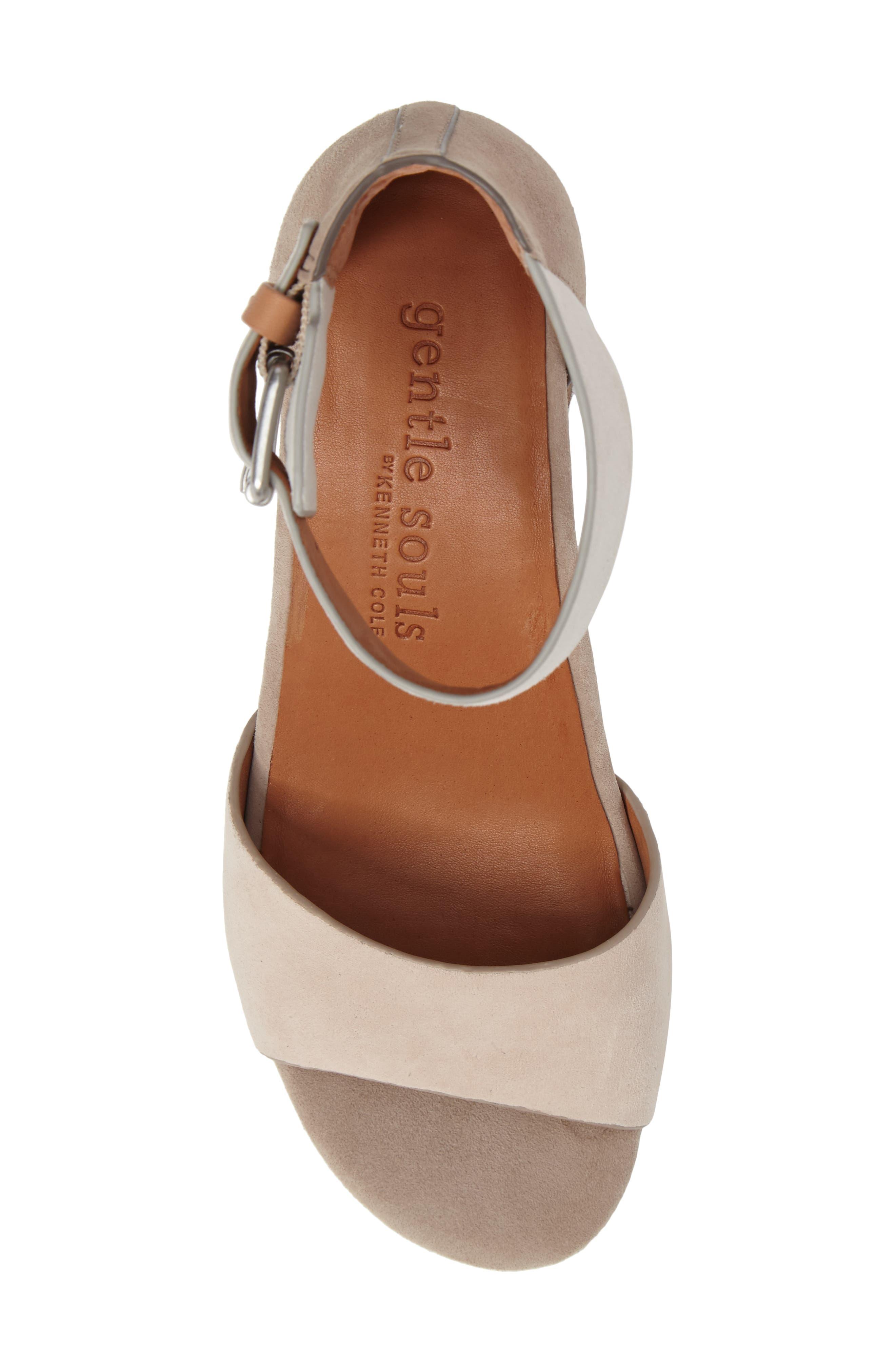 Alternate Image 5  - Gentle Souls Christa Block Heel Sandal (Women)