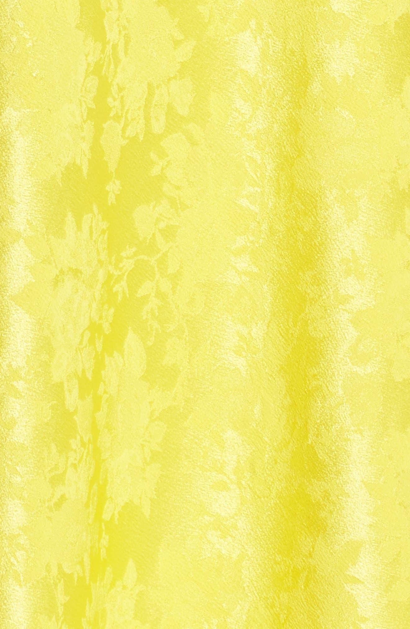 Alternate Image 5  - Lewit Jacquard Silk Midi Skirt