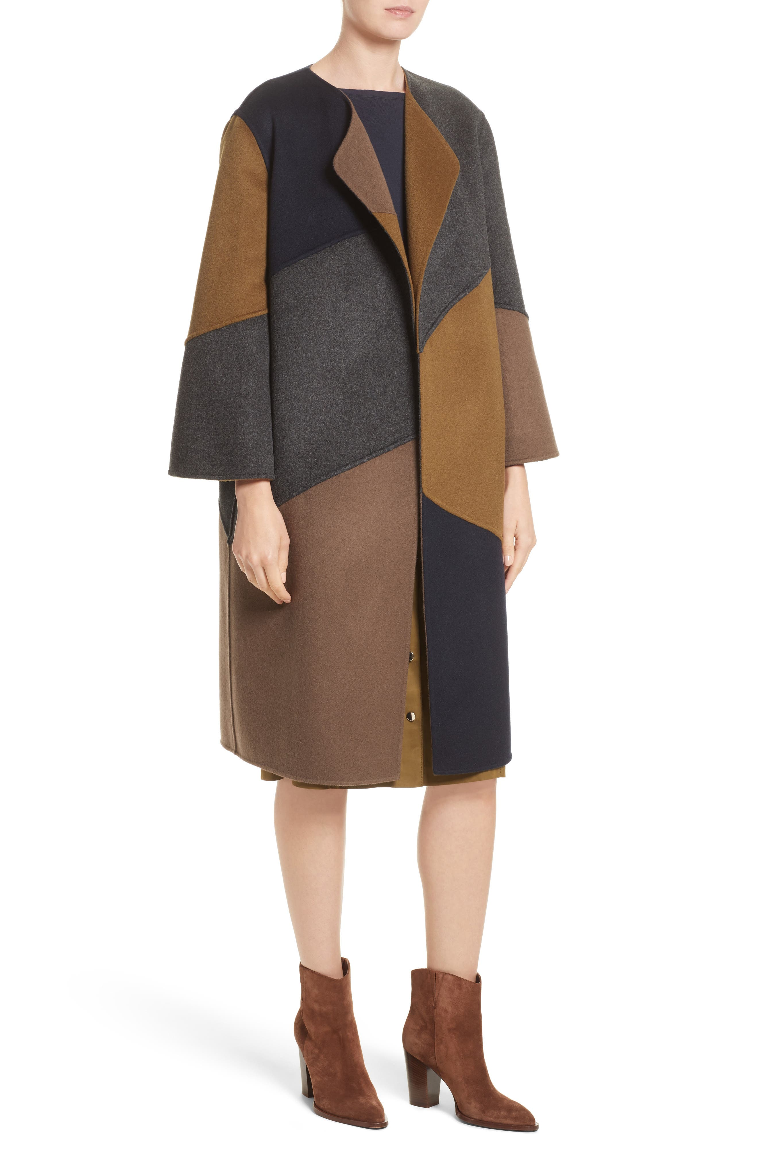 Alternate Image 4  - Lafayette 148 New York Belissa Double Face Reversible Coat