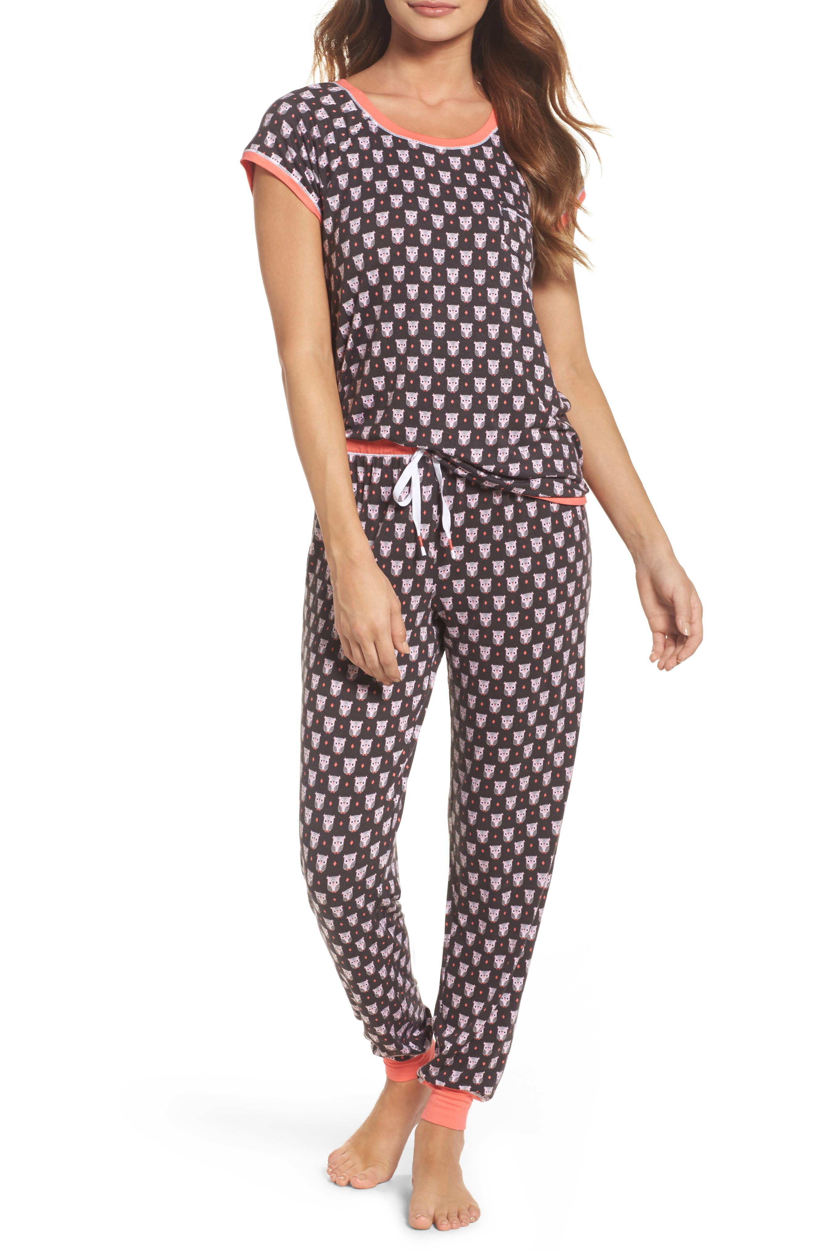 kensie Print Pajamas
