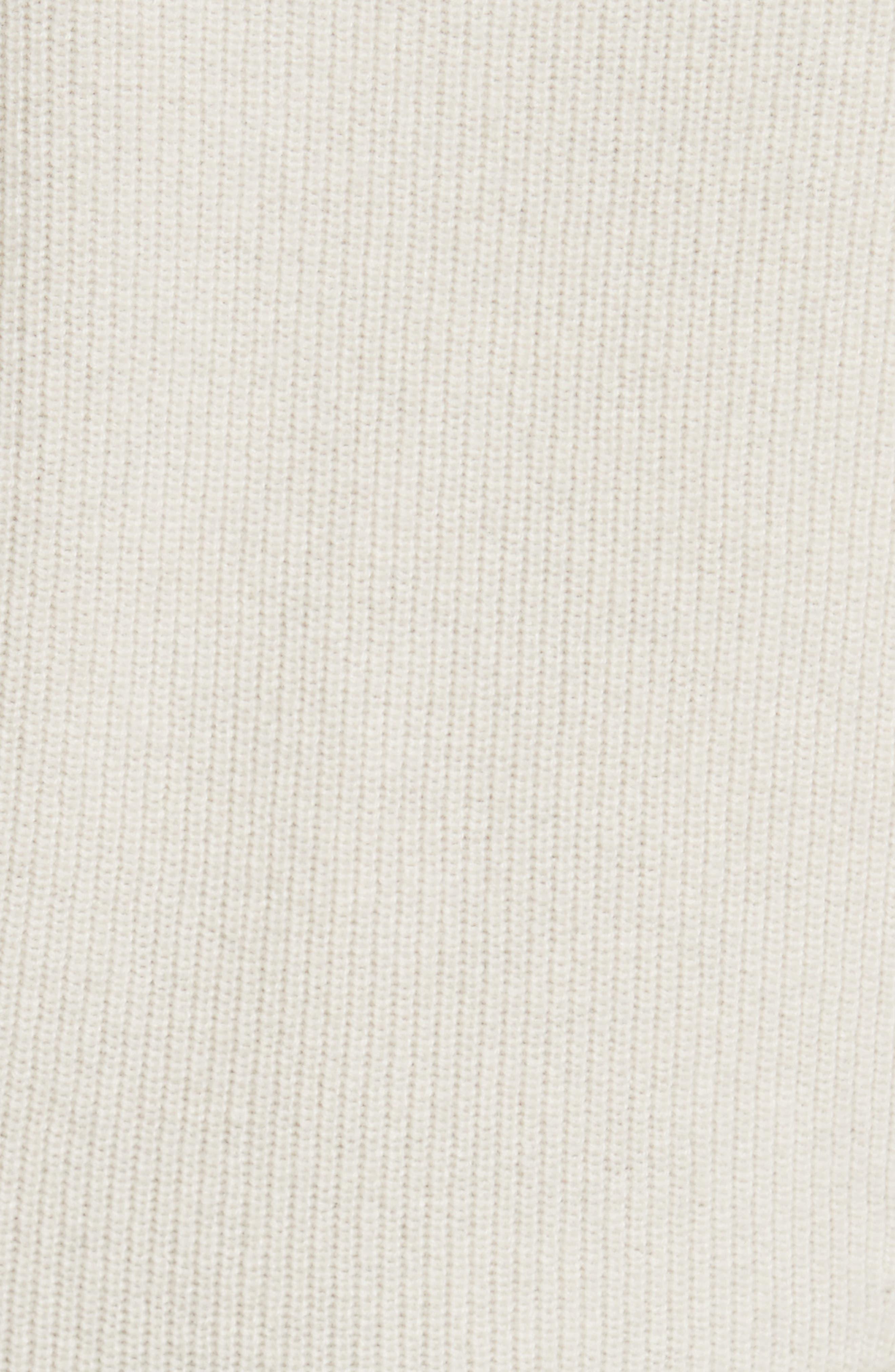 Alternate Image 5  - Veronica Beard Raleigh Cashmere Peplum Sweater