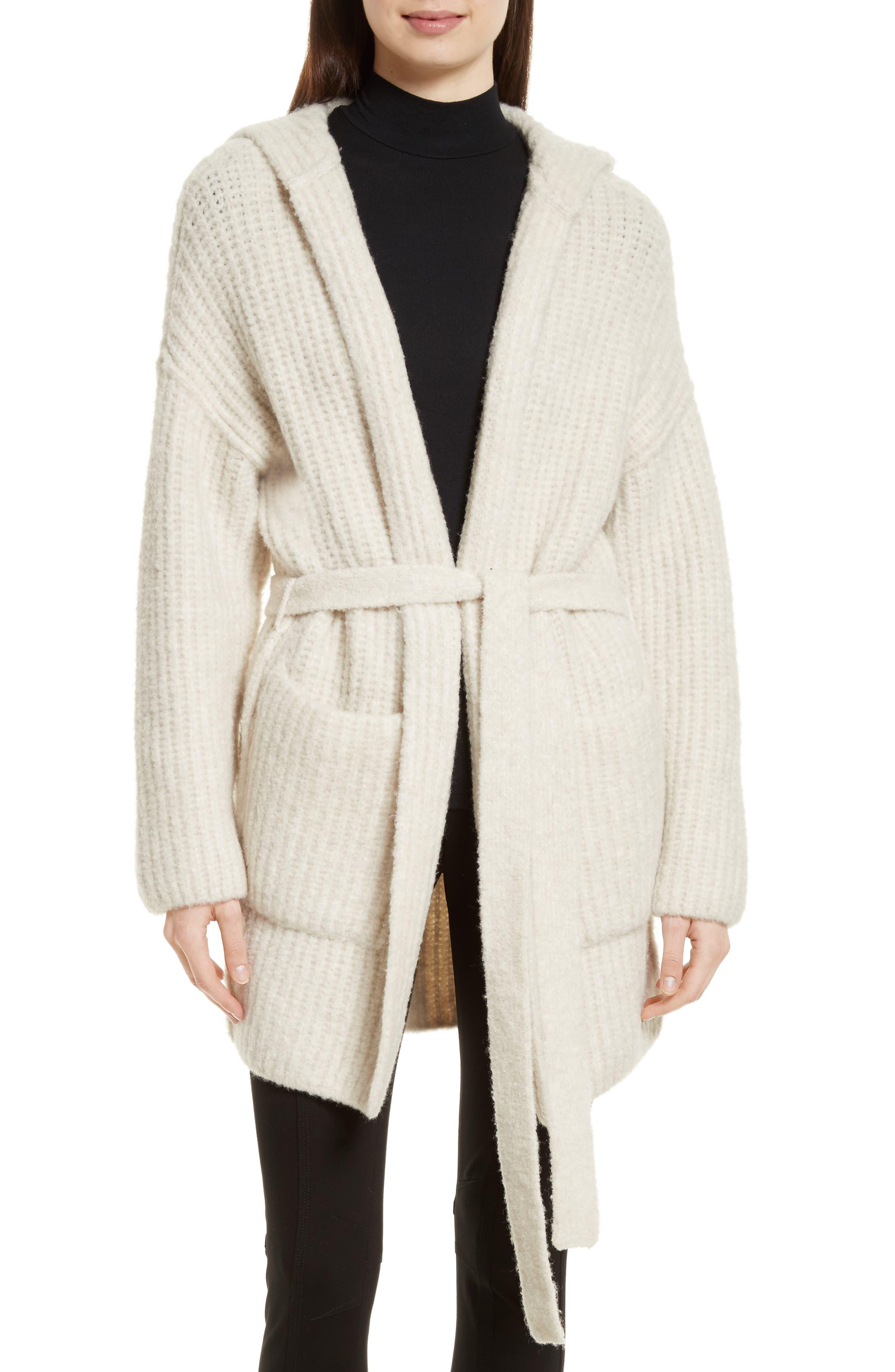 ATM Anthony Thomas Melillo Hooded Sweater Coat