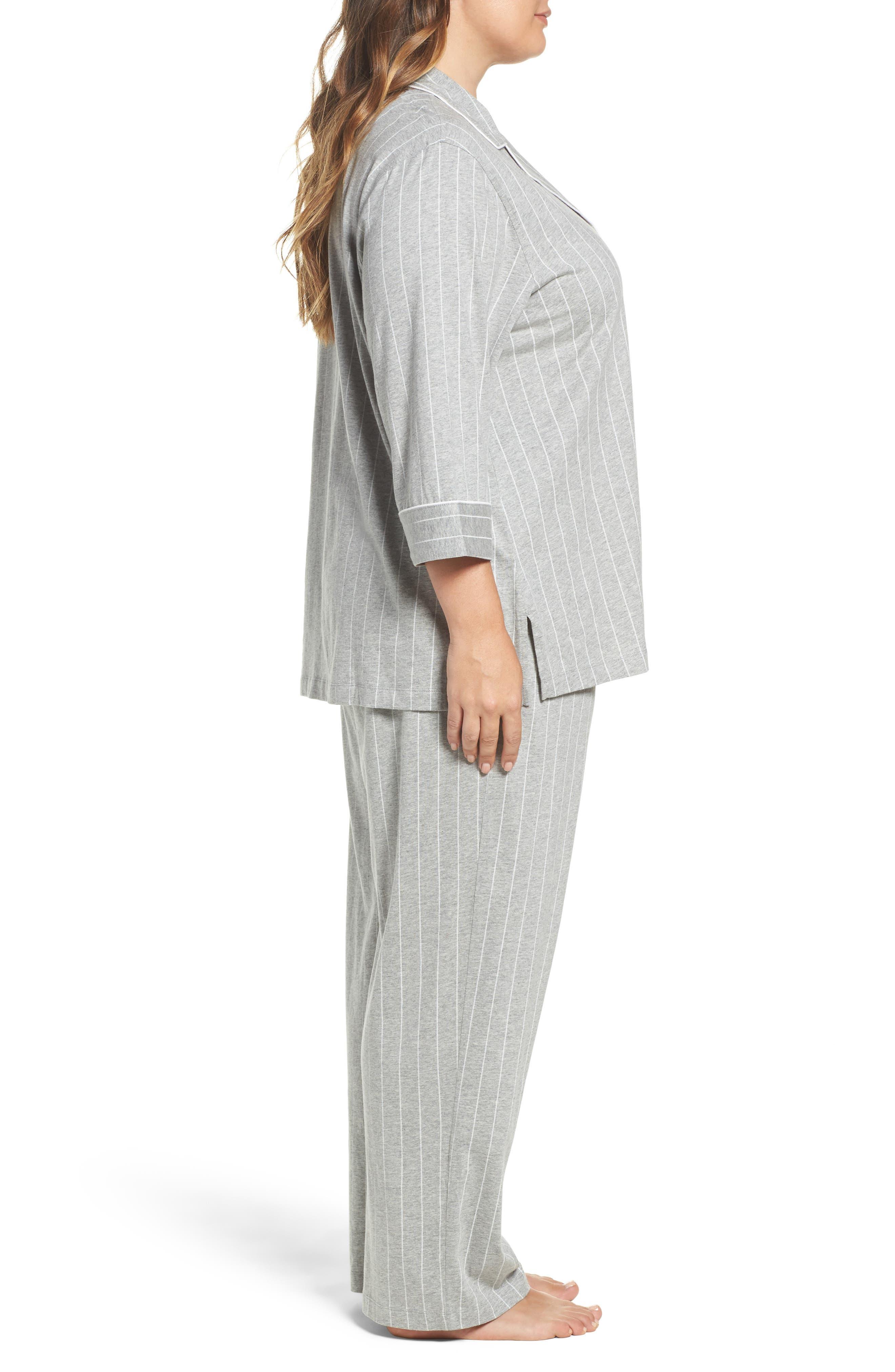Alternate Image 3  - Lauren Ralph Lauren Pajamas (Plus Size)