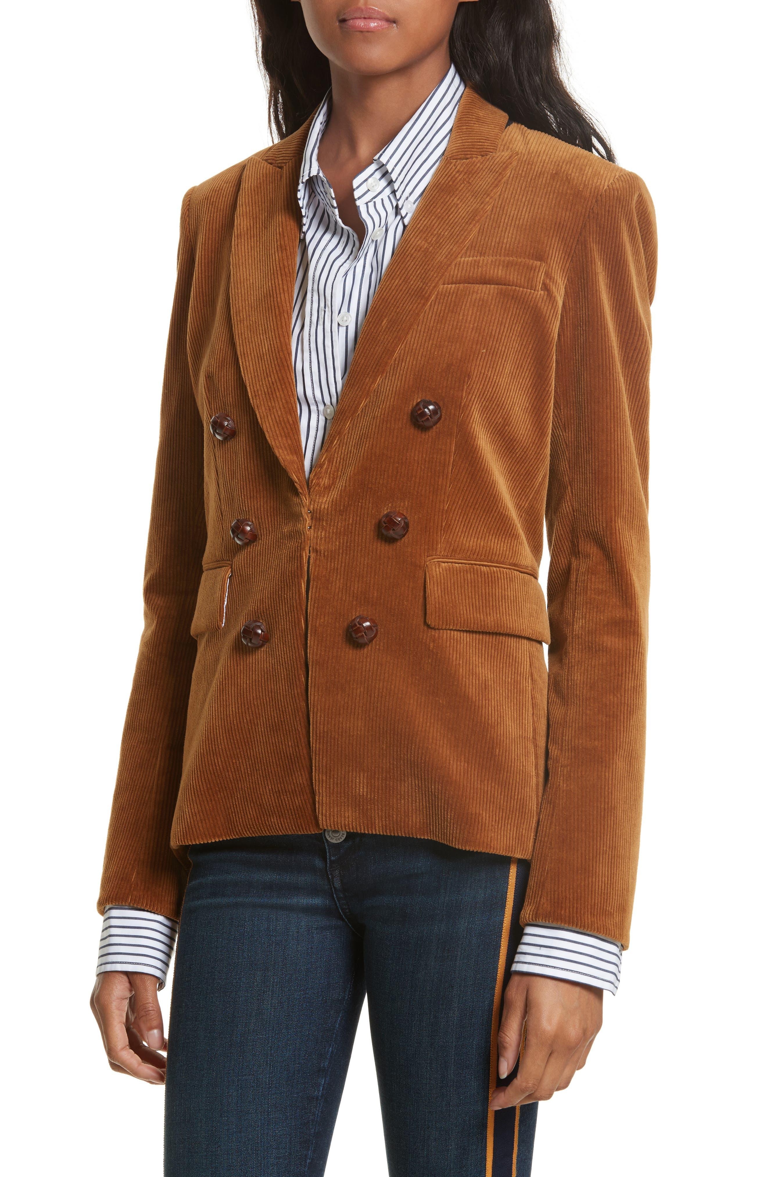 Alternate Image 5  - Veronica Beard Cliff Corduroy Cutaway Jacket