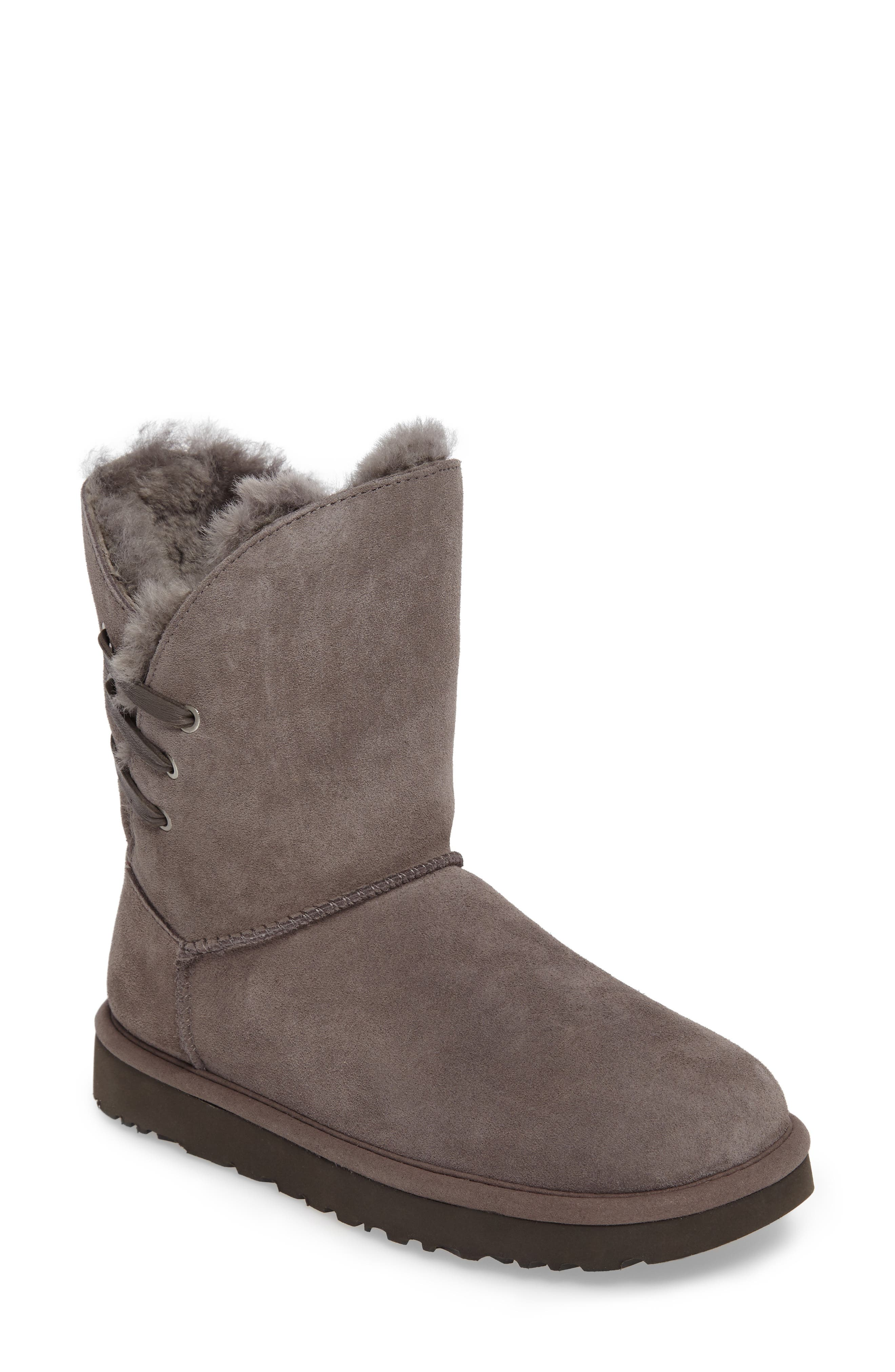Constantine Boot,                         Main,                         color, Charcoal Suede