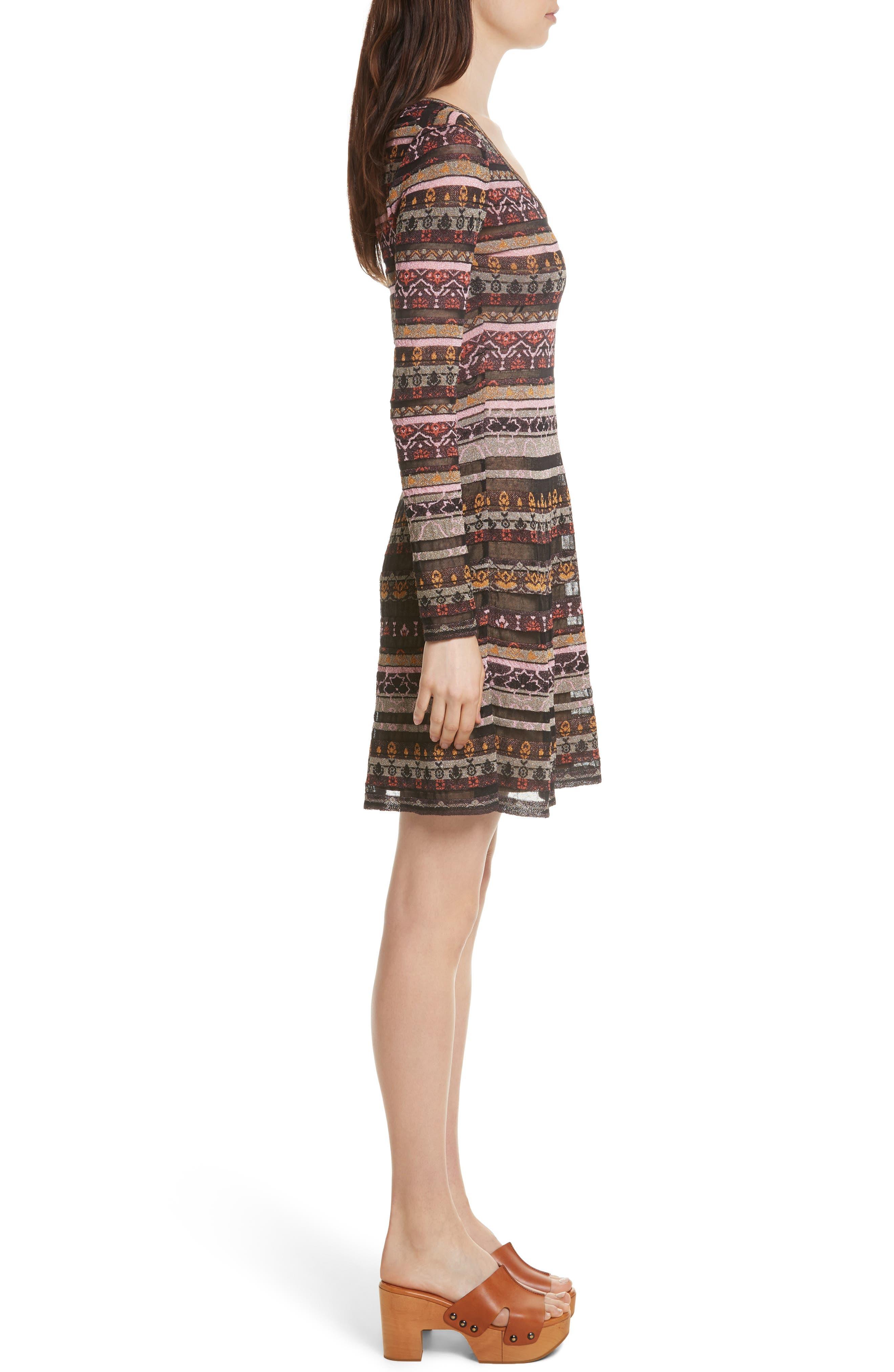 Alternate Image 3  - M Missoni Floral Jacquard Dress