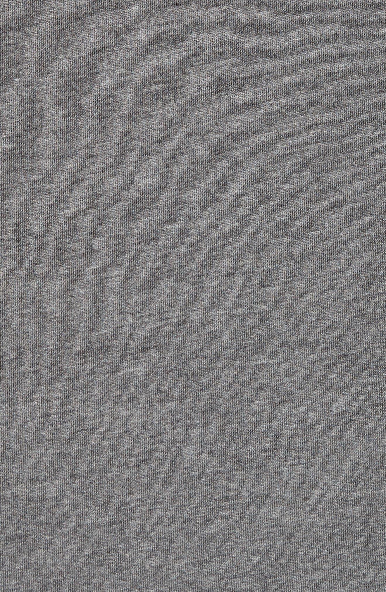 Martford Regular Fit T-Shirt,                             Alternate thumbnail 5, color,                             Grey Melange