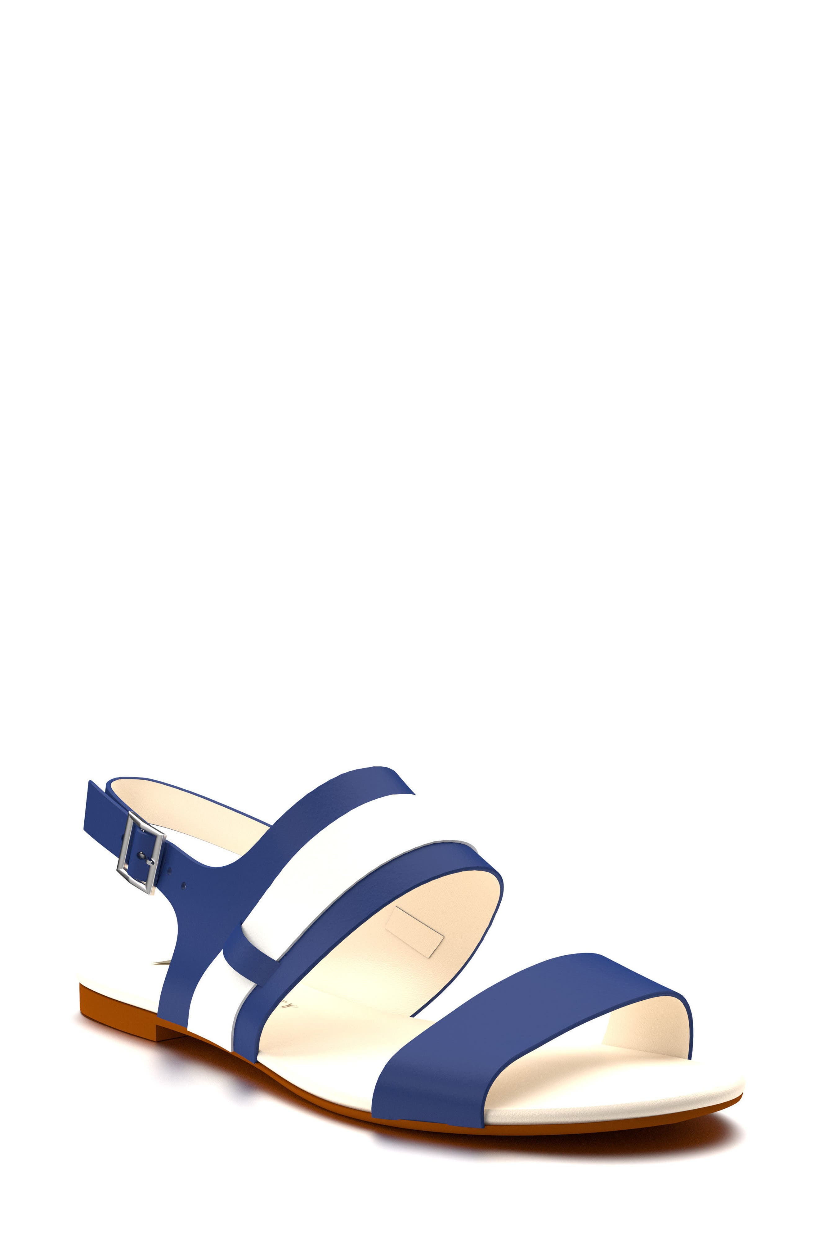 Shoes of Prey Strappy Slingback Sandal (Women)