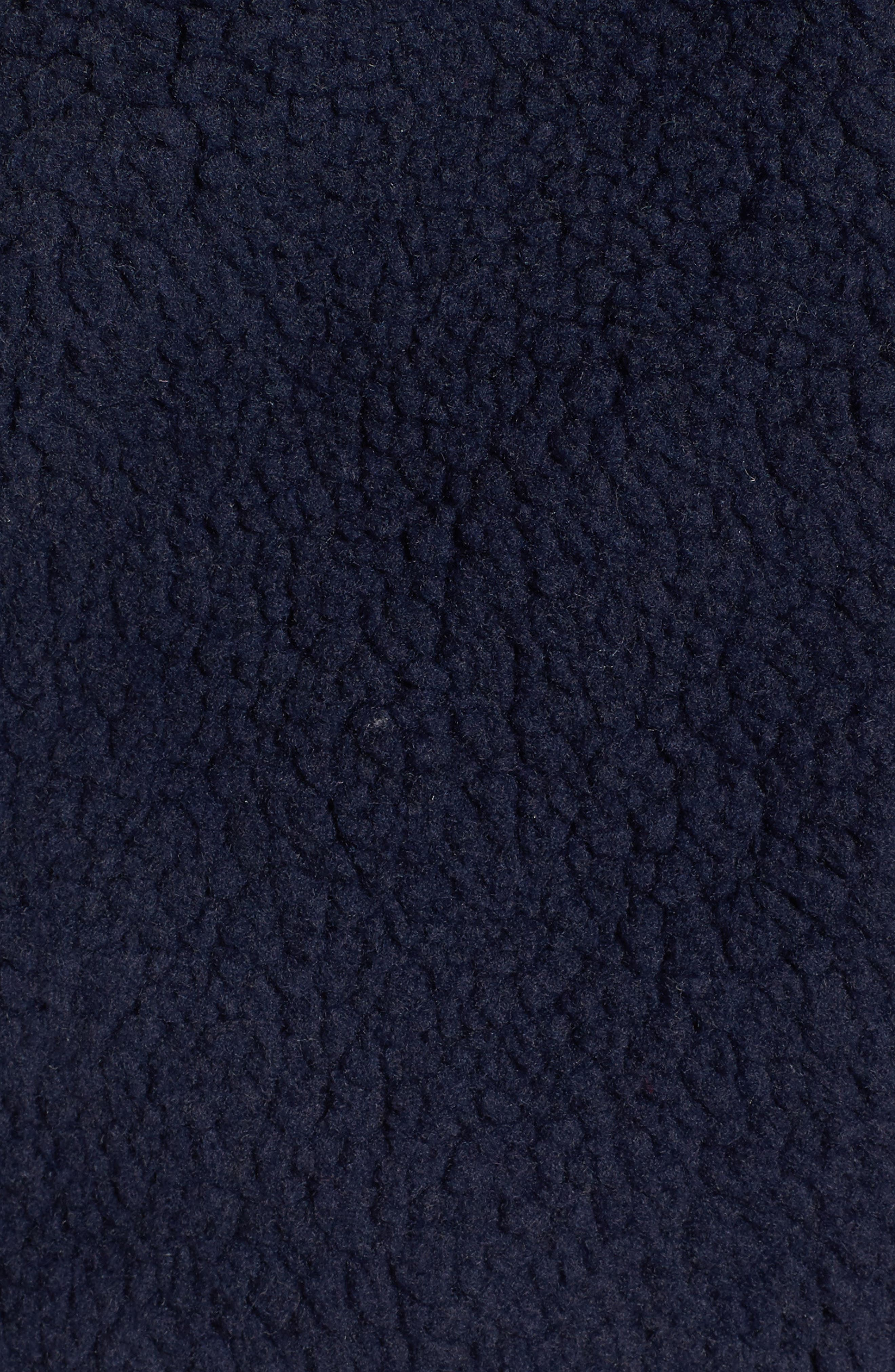 Mattawa Fleece Jacket,                             Alternate thumbnail 5, color,                             Navy