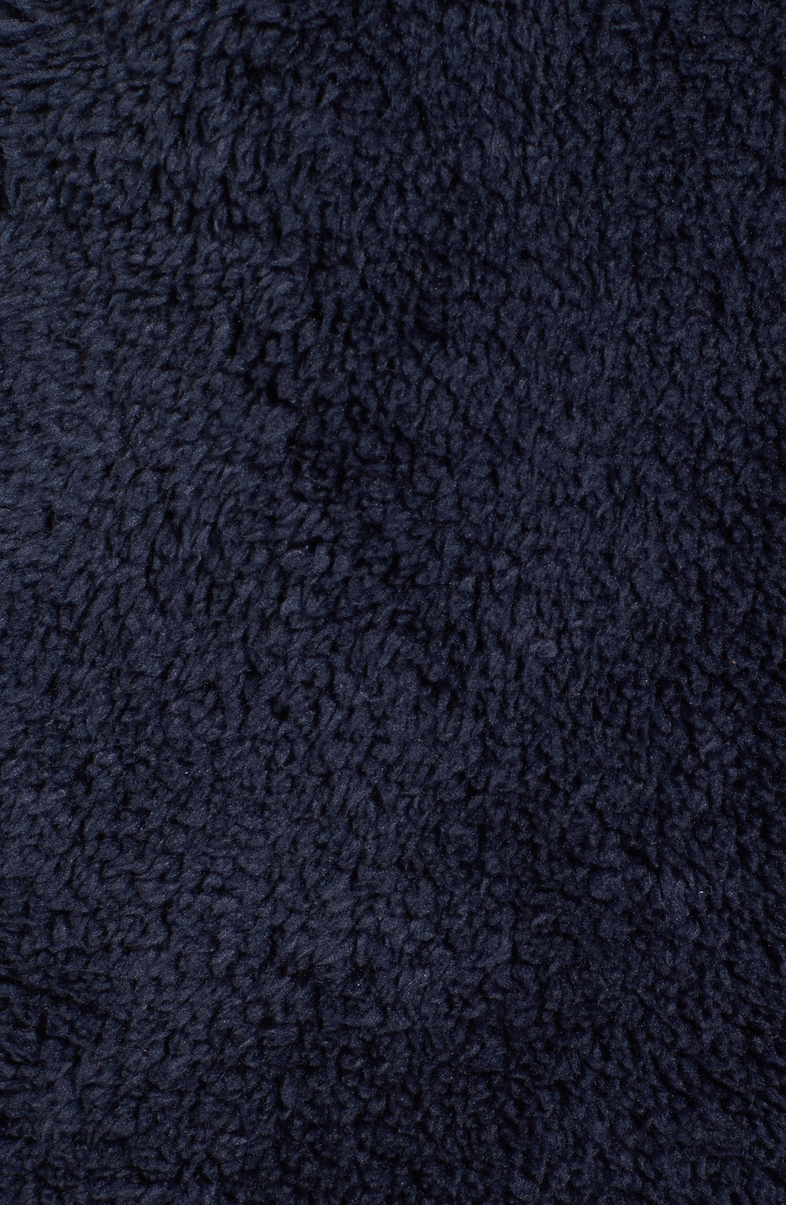 Fleece Vest,                             Alternate thumbnail 5, color,                             Navy