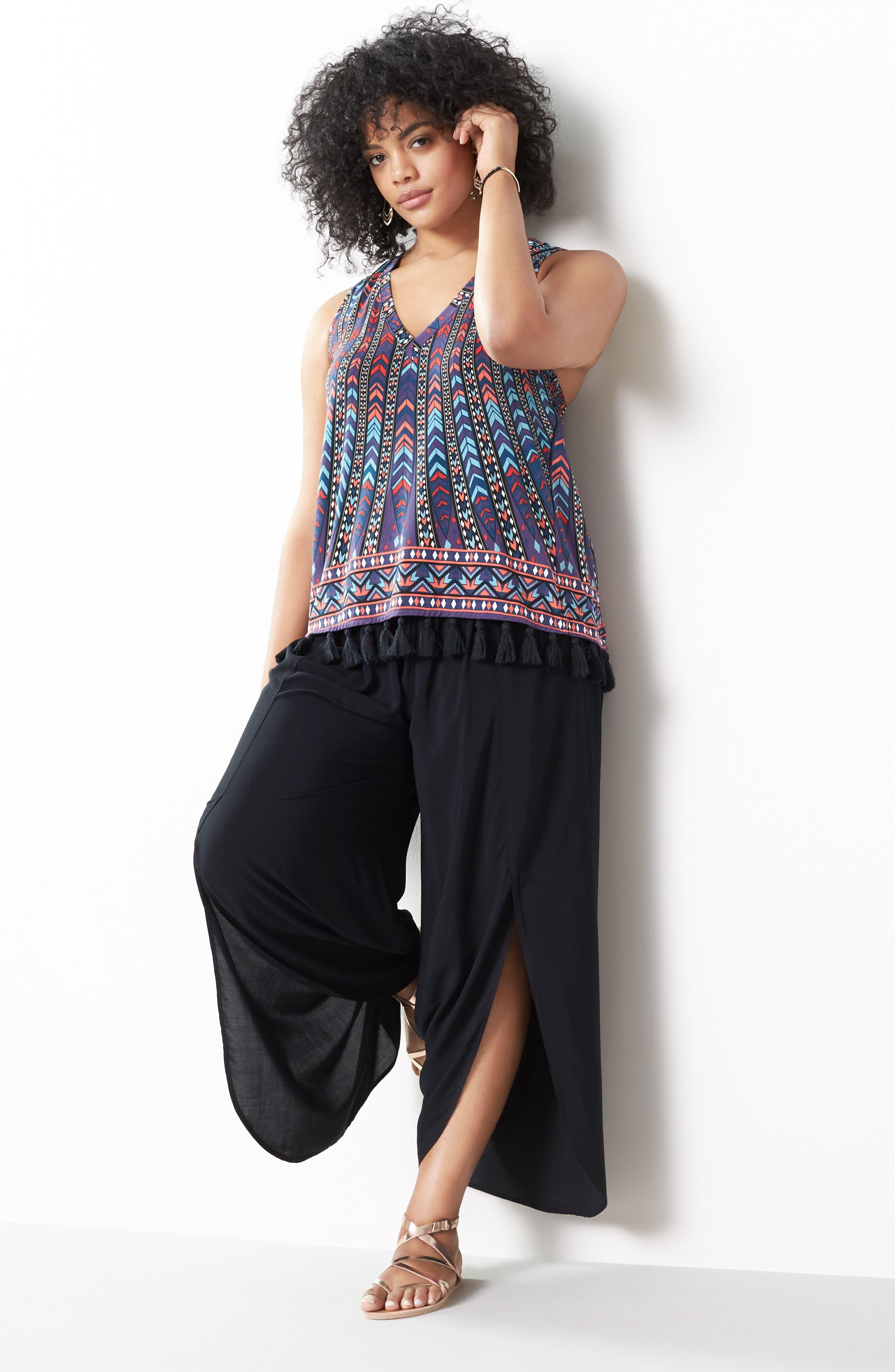 Alternate Image 2  - Tart Nima Front Slit Pants (Plus Size)