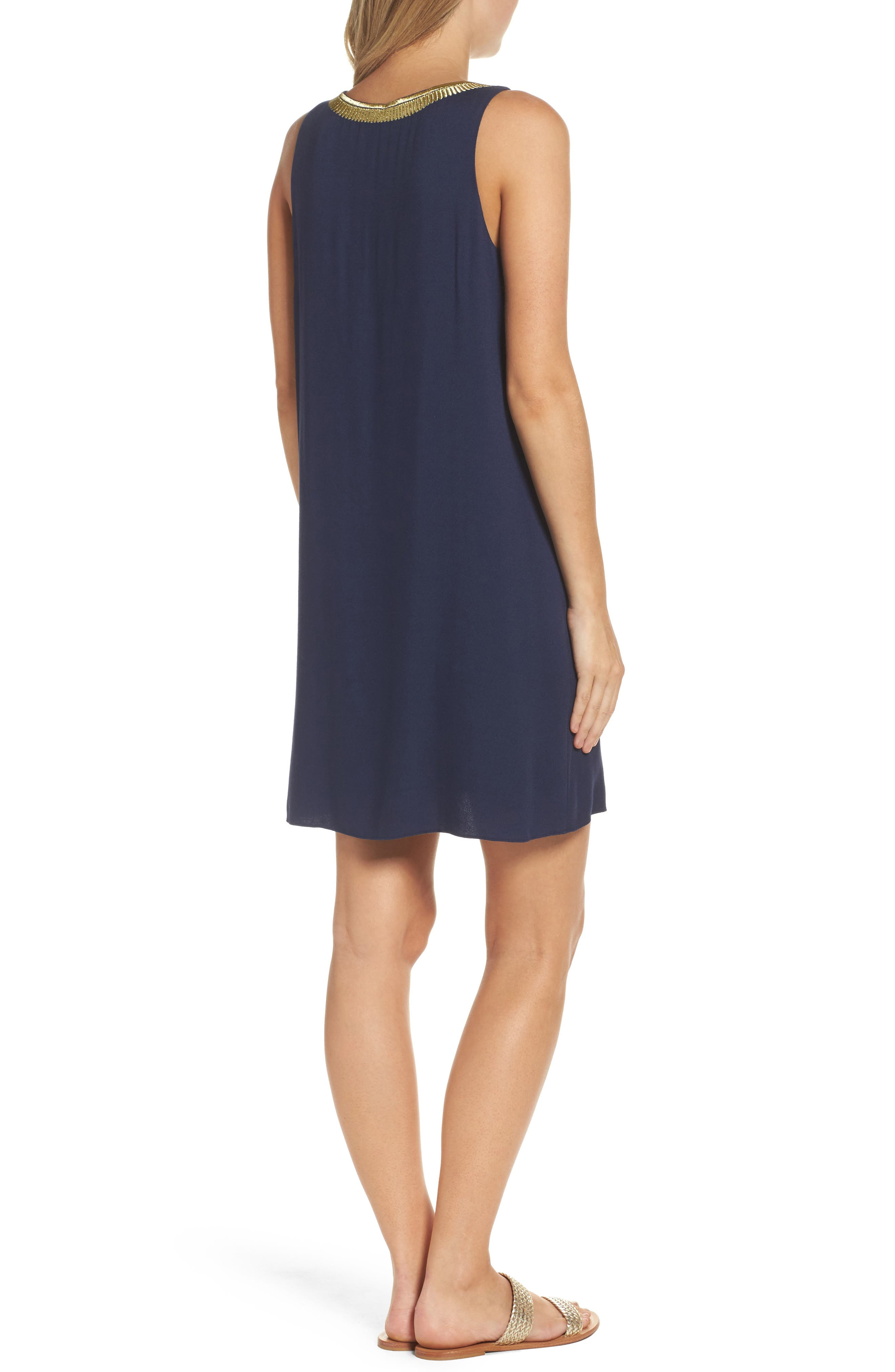 Alternate Image 2  - Lilly Pulitzer® Aubra Embroidered Shift Dress
