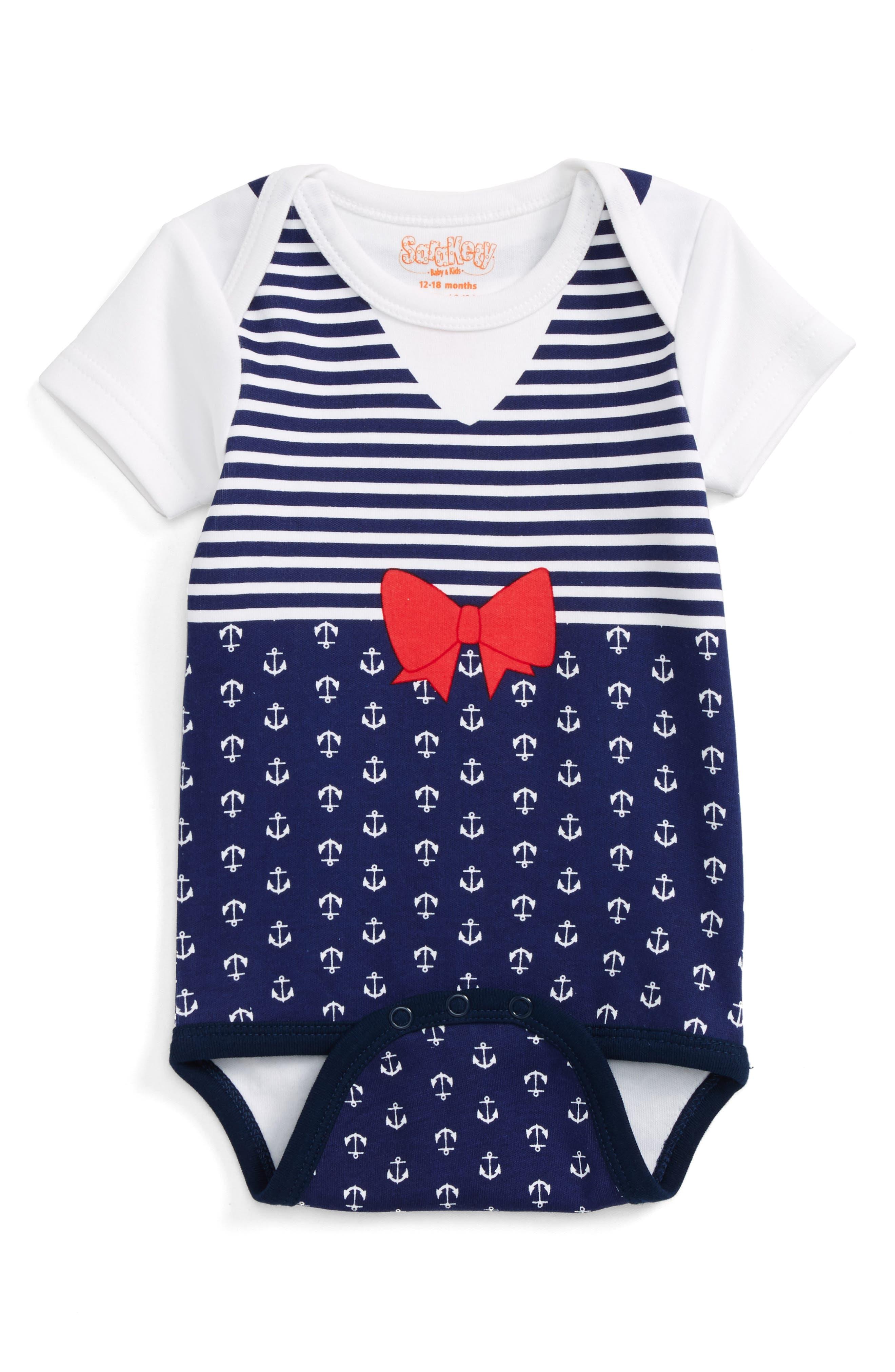 Sara Kety Baby & Kids Print Bodysuit (Baby Girls)