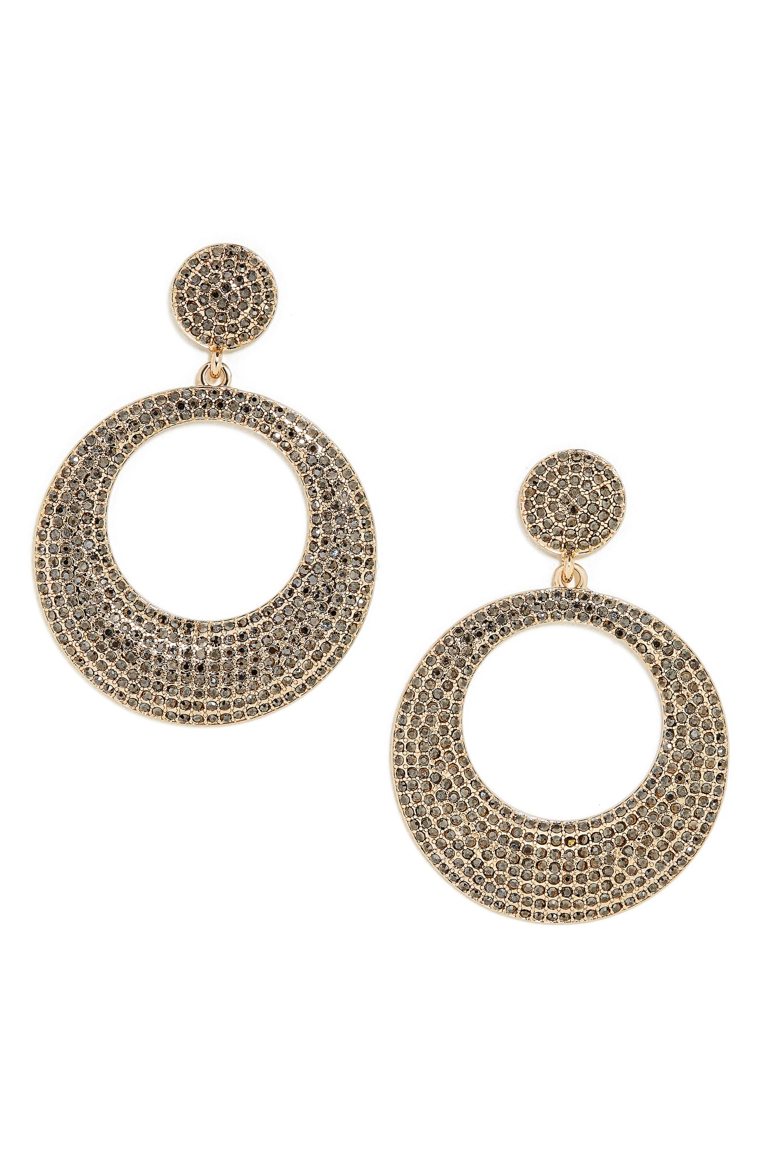 BAUBLEBAR Octavia Hoop Earrings